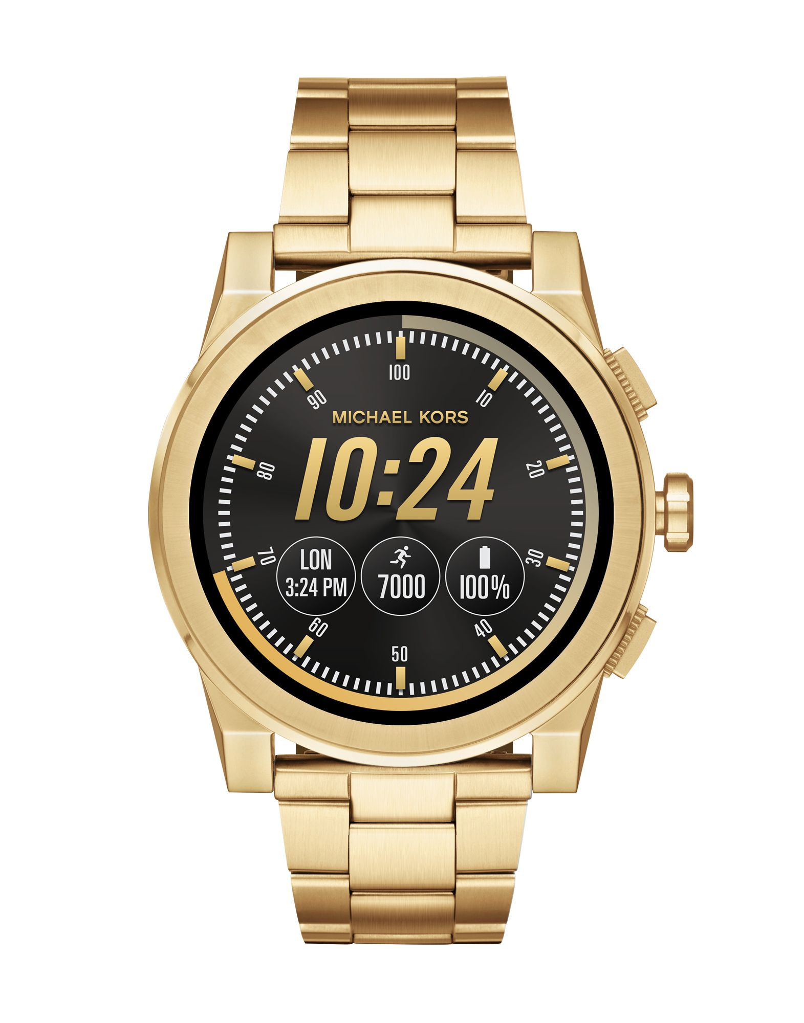 MICHAEL KORS ACCESS Herren Smartwatch Farbe Gold Größe 1 - broschei