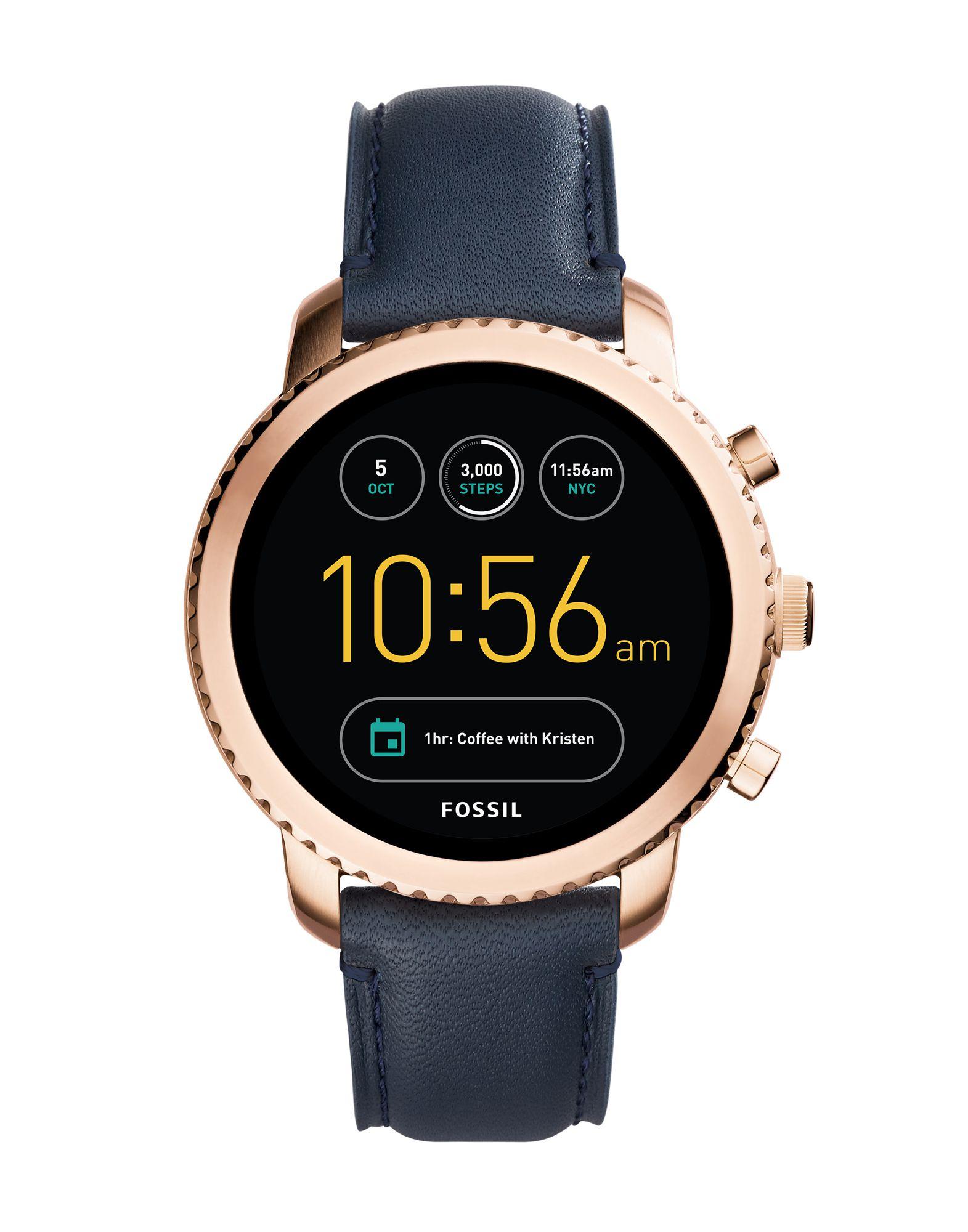 FOSSIL Q Herren Smartwatch Farbe Dunkelblau Größe 1 jetztbilligerkaufen