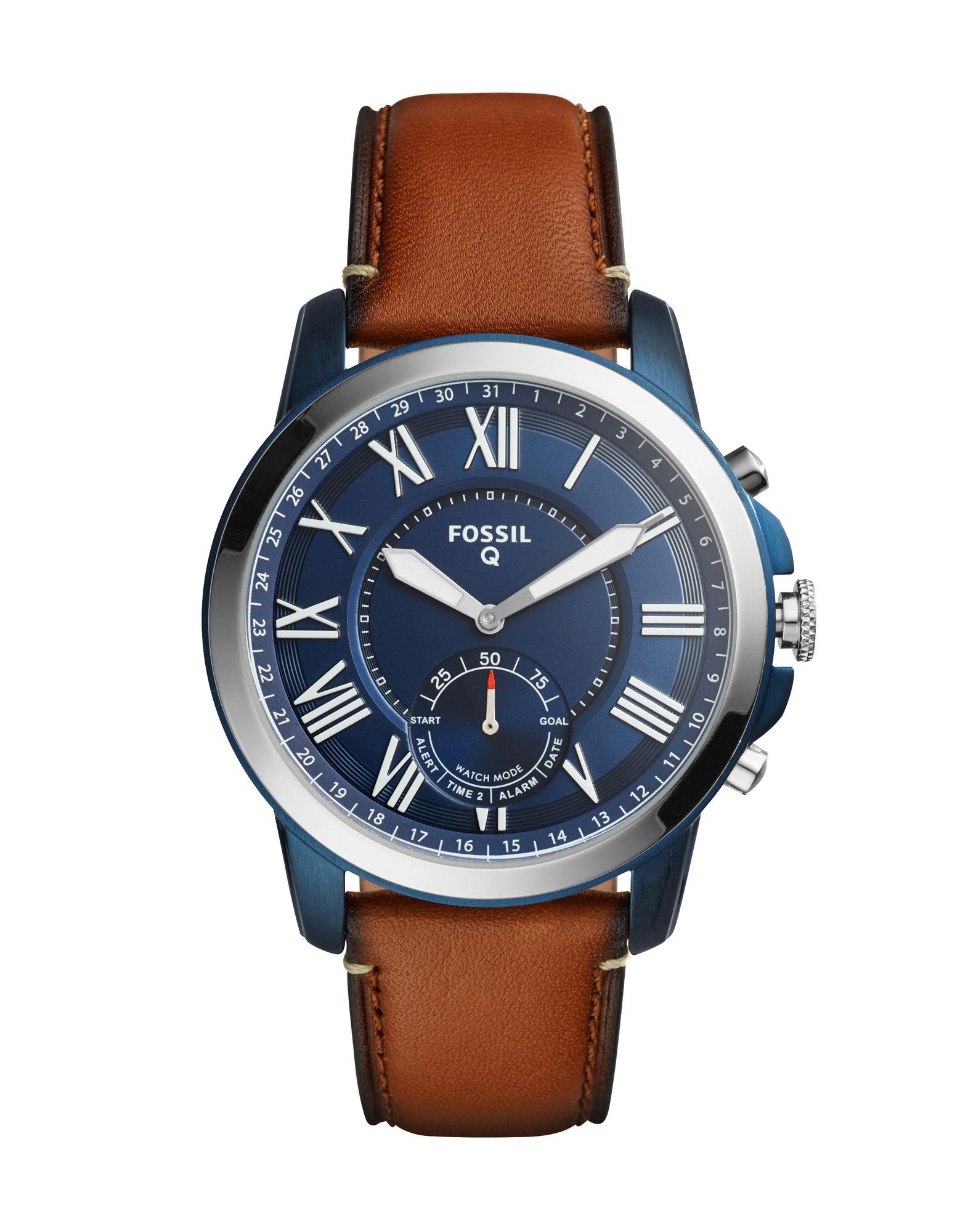 FOSSIL Q Herren Smartwatch Farbe Braun Größe 1 - broschei