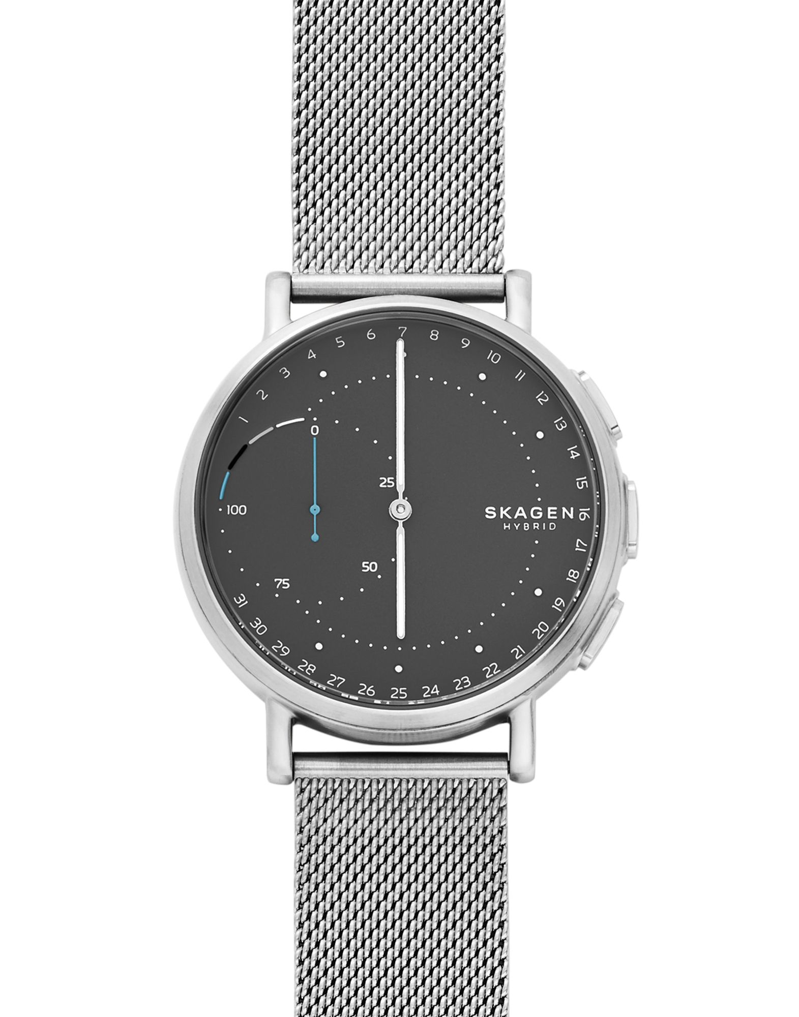 SKAGEN CONNECTED Herren Smartwatch Farbe Granitgrau Größe 1 - broschei