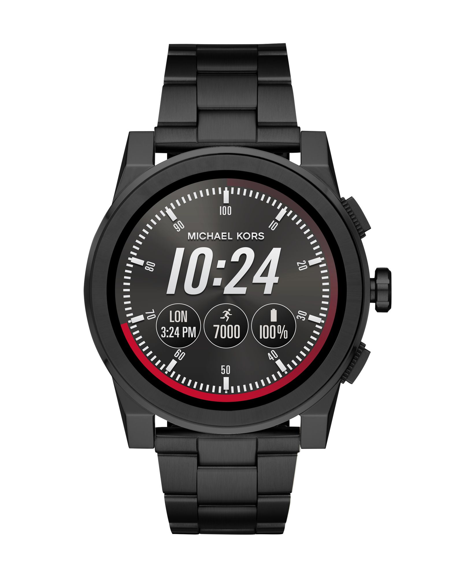 MICHAEL KORS ACCESS Herren Smartwatch Farbe Schwarz Größe 1 - broschei