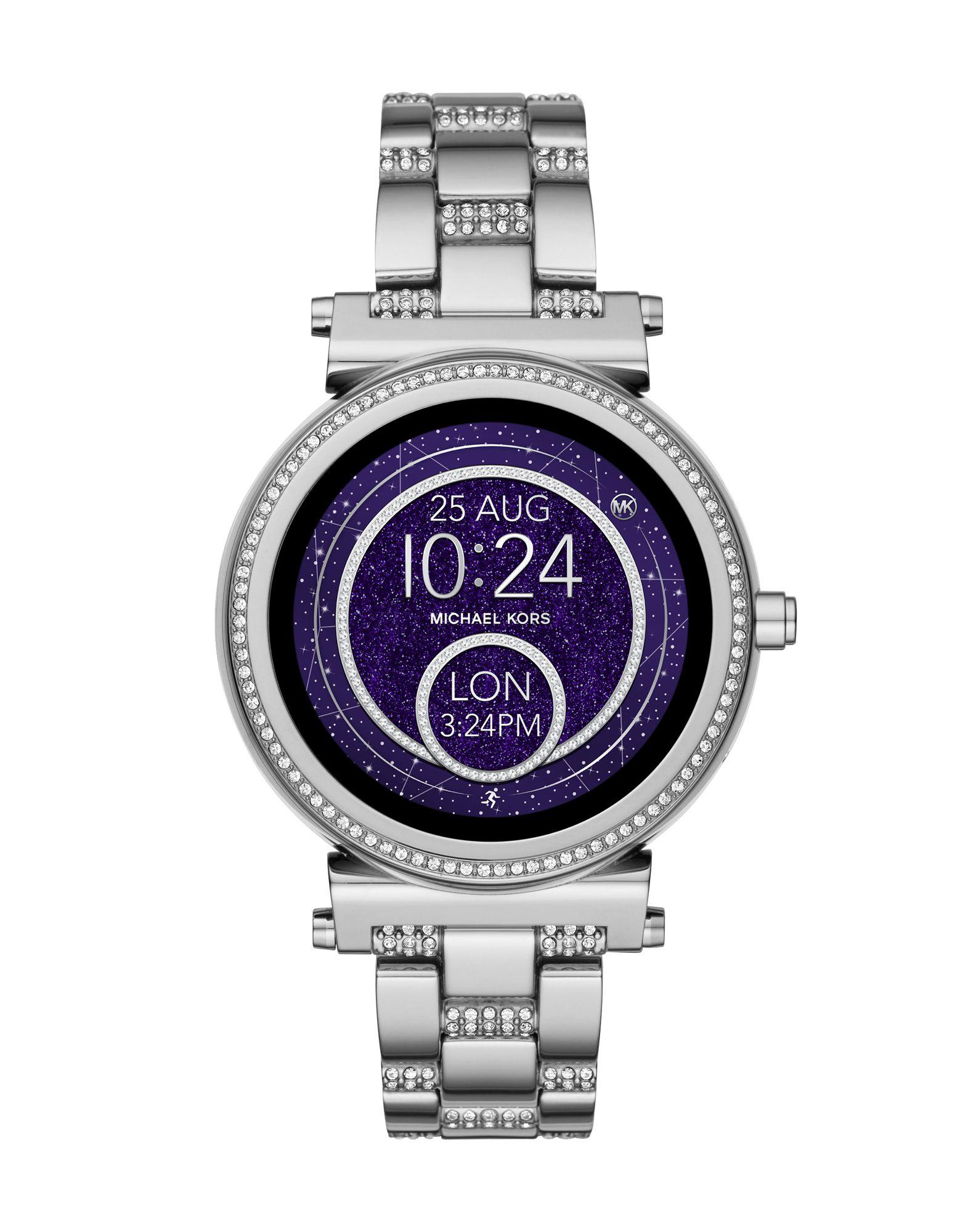 MICHAEL KORS ACCESS Damen Smartwatch Farbe Silber Größe 1 jetztbilligerkaufen