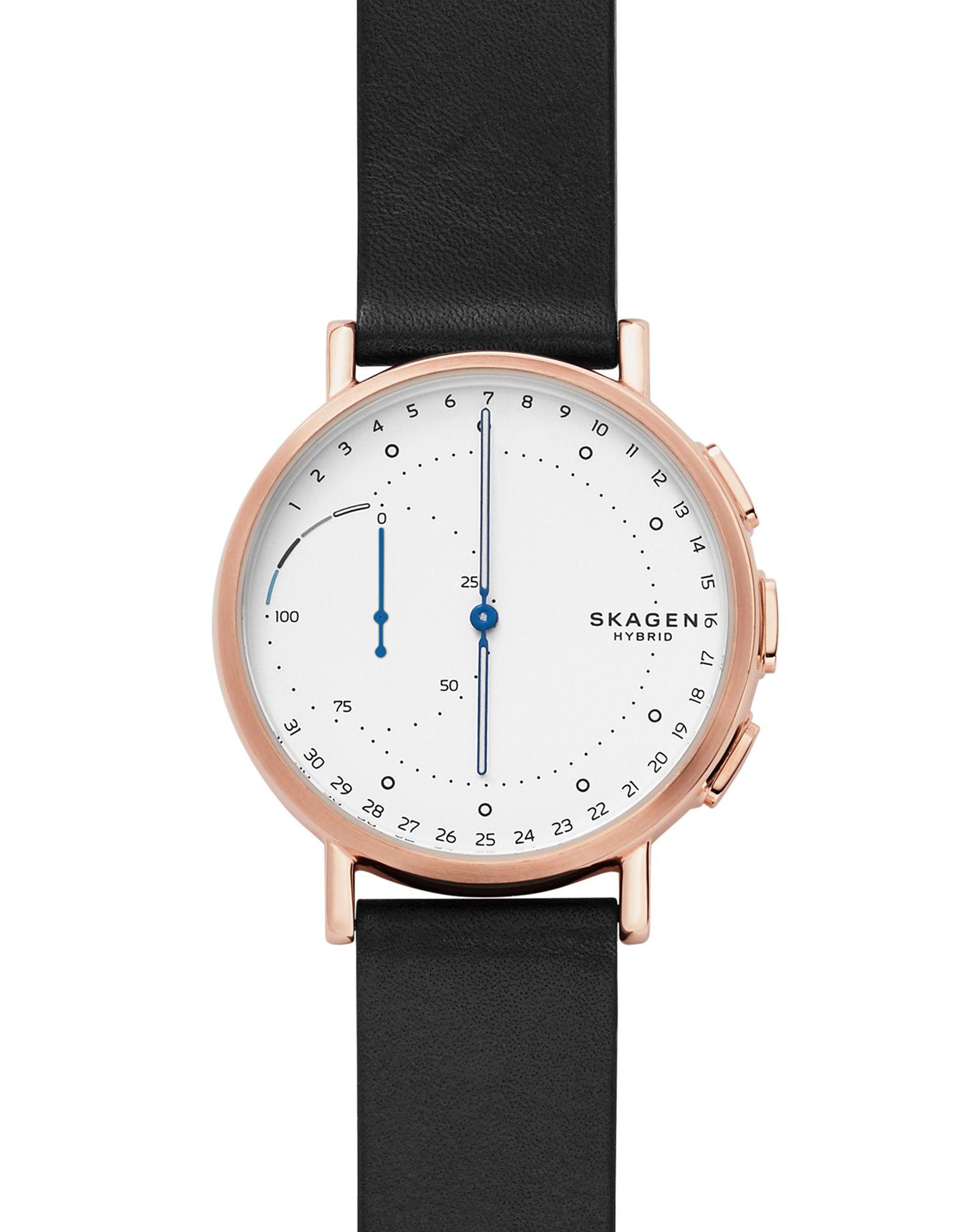 SKAGEN CONNECTED Herren Smartwatch Farbe Weiß Größe 1 - broschei