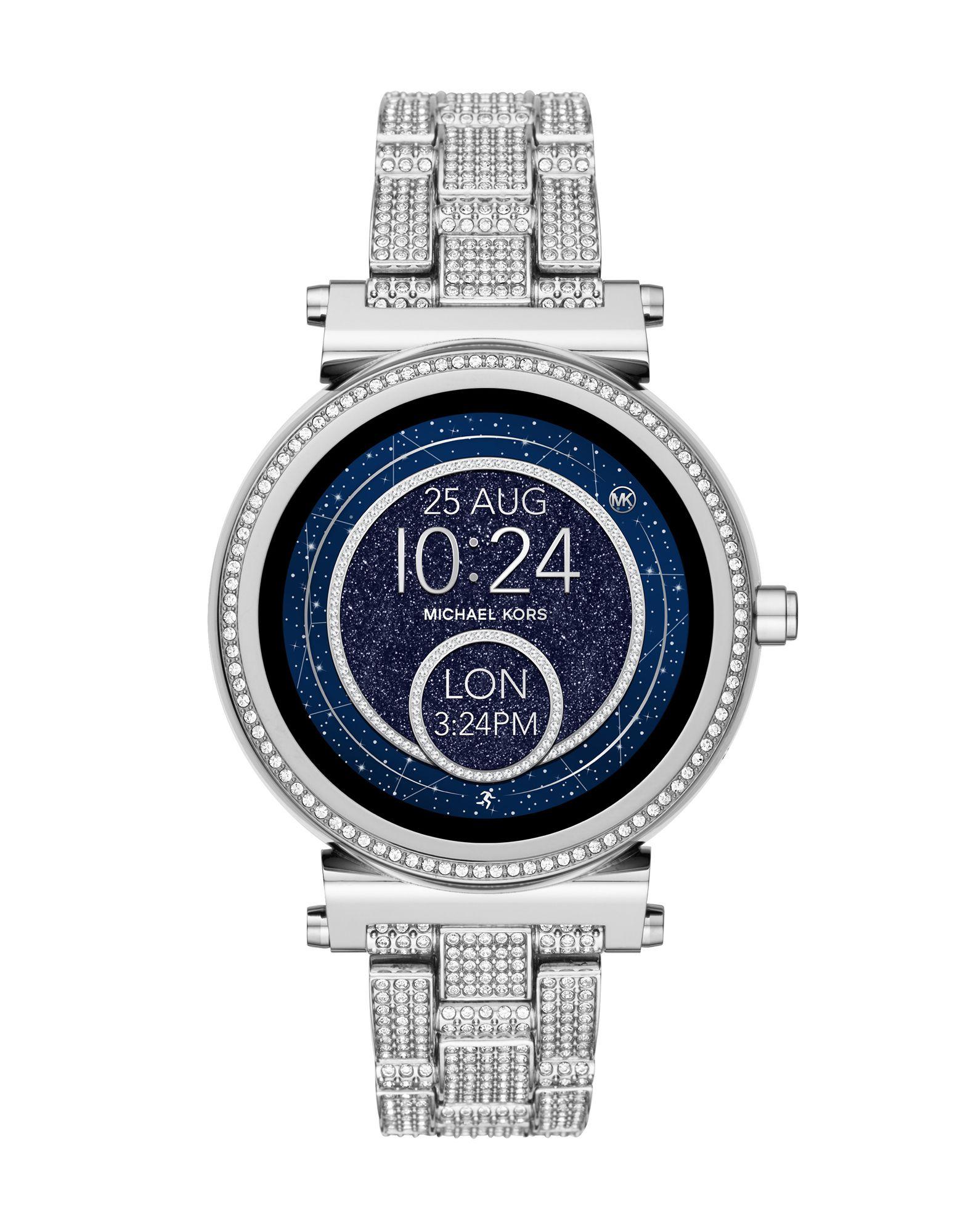 MICHAEL KORS ACCESS Damen Smartwatch Farbe Silber Größe 1 - broschei