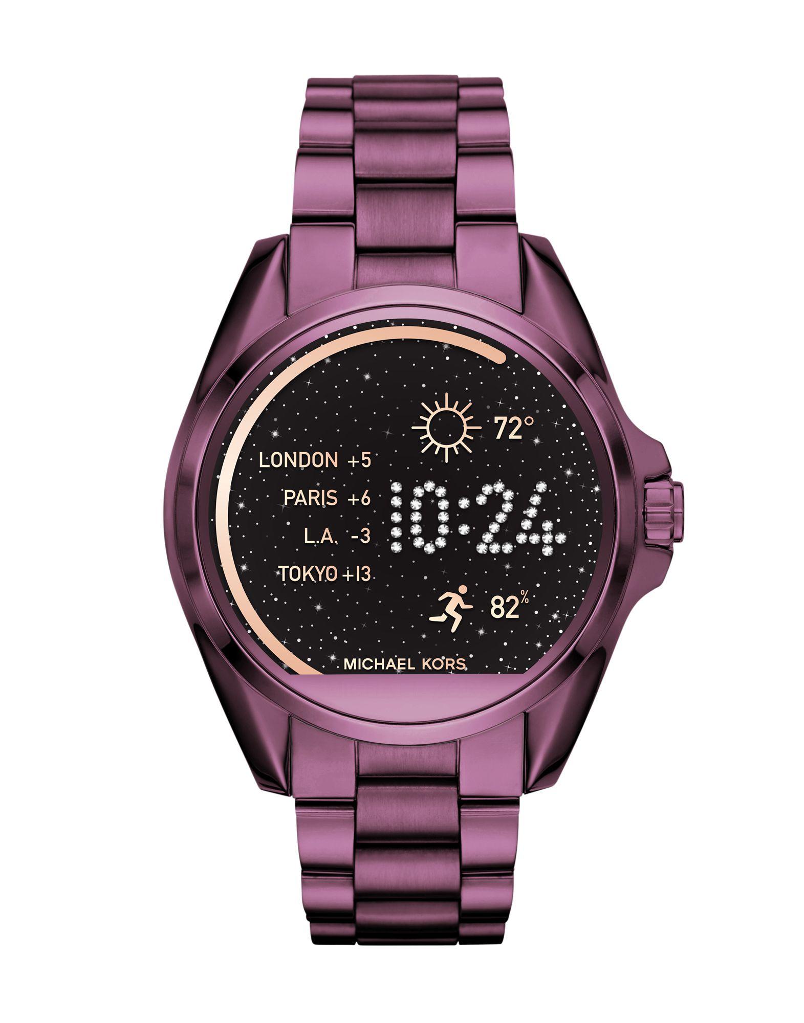MICHAEL KORS ACCESS Damen Smartwatch Farbe Malve Größe 1 - broschei