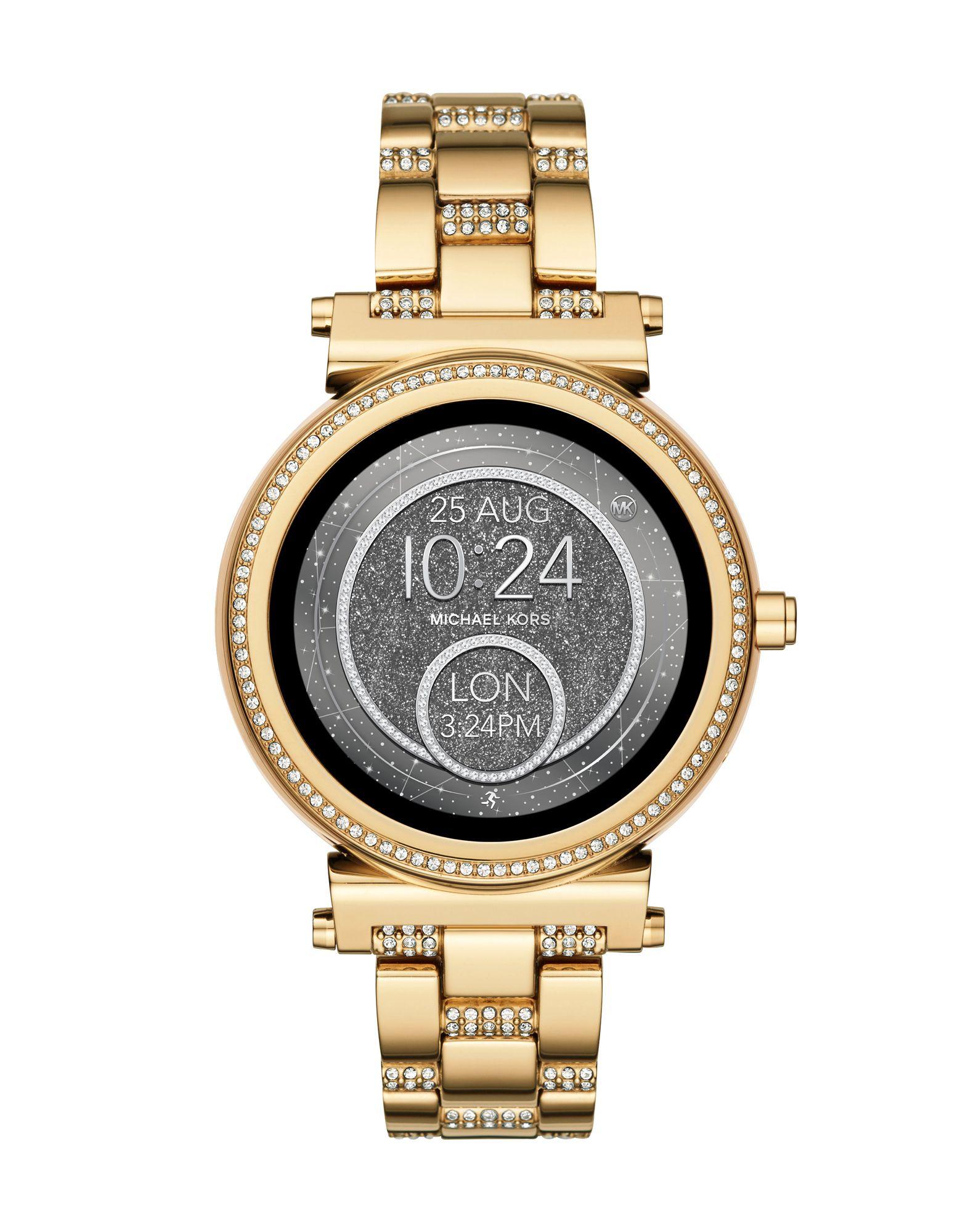 MICHAEL KORS ACCESS Damen Smartwatch Farbe Gold Größe 1 - broschei