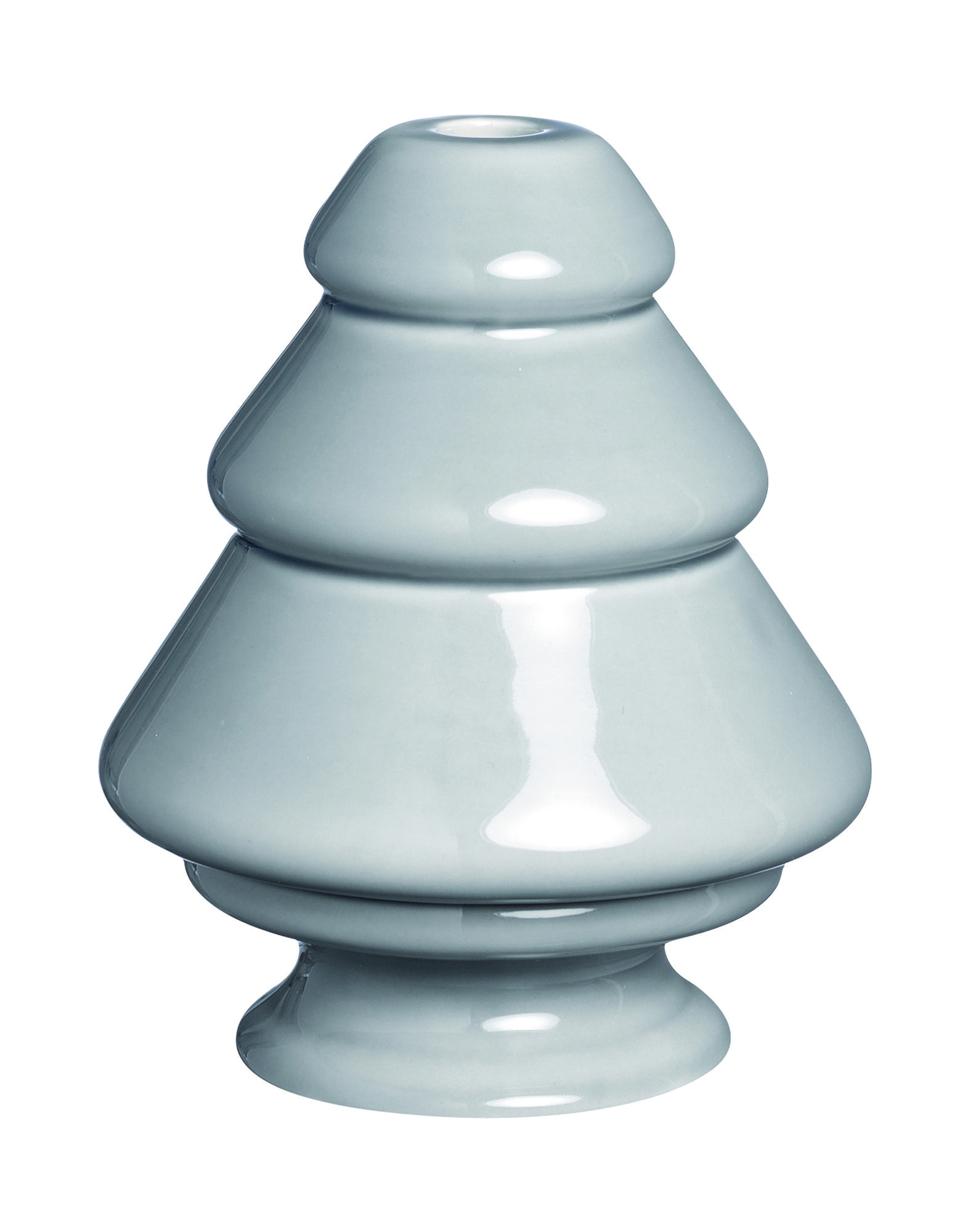 KÄHLER Unisex Kerzenleuchter Farbe Grau Größe 1