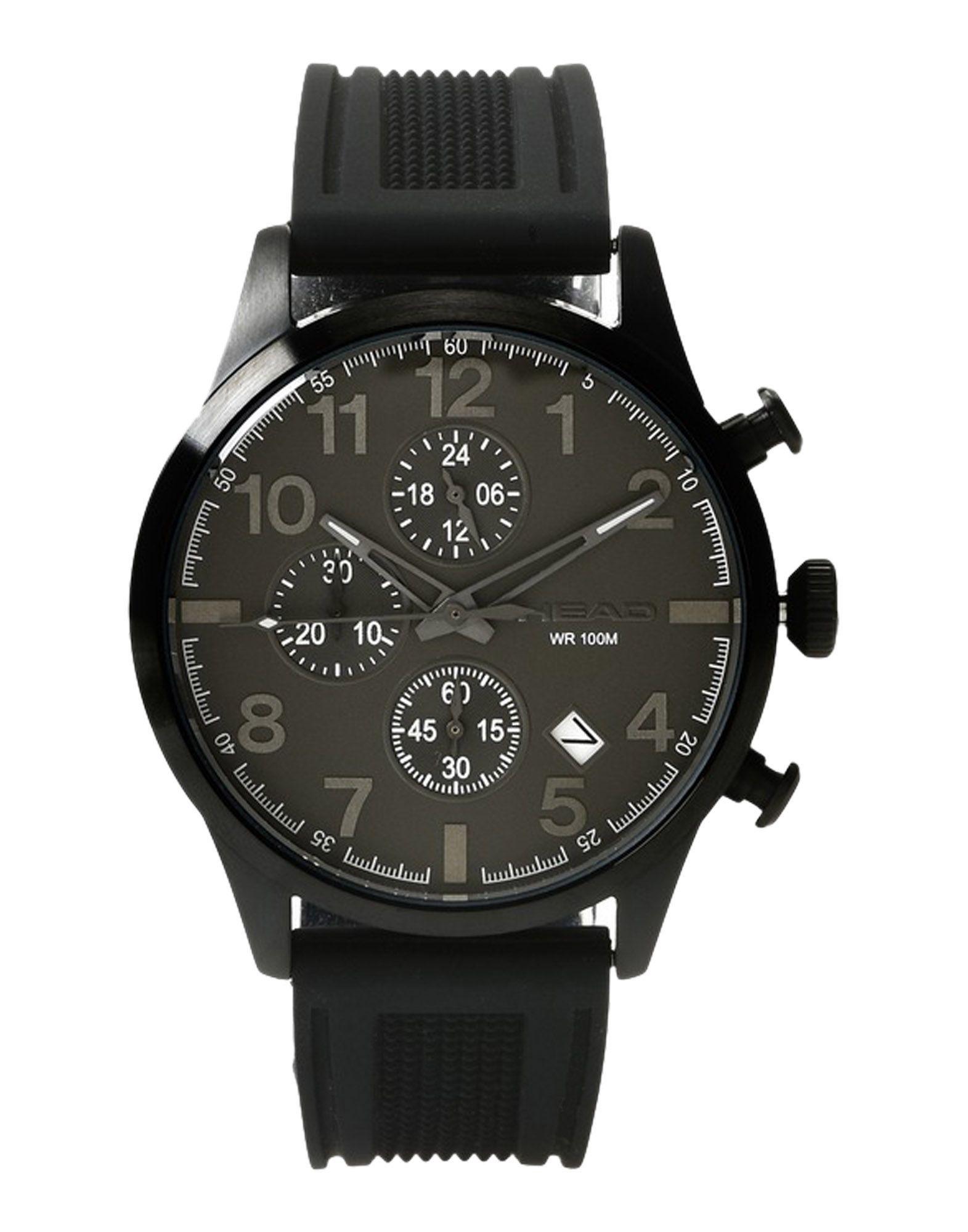 メンズ HEAD 腕時計 ブラック