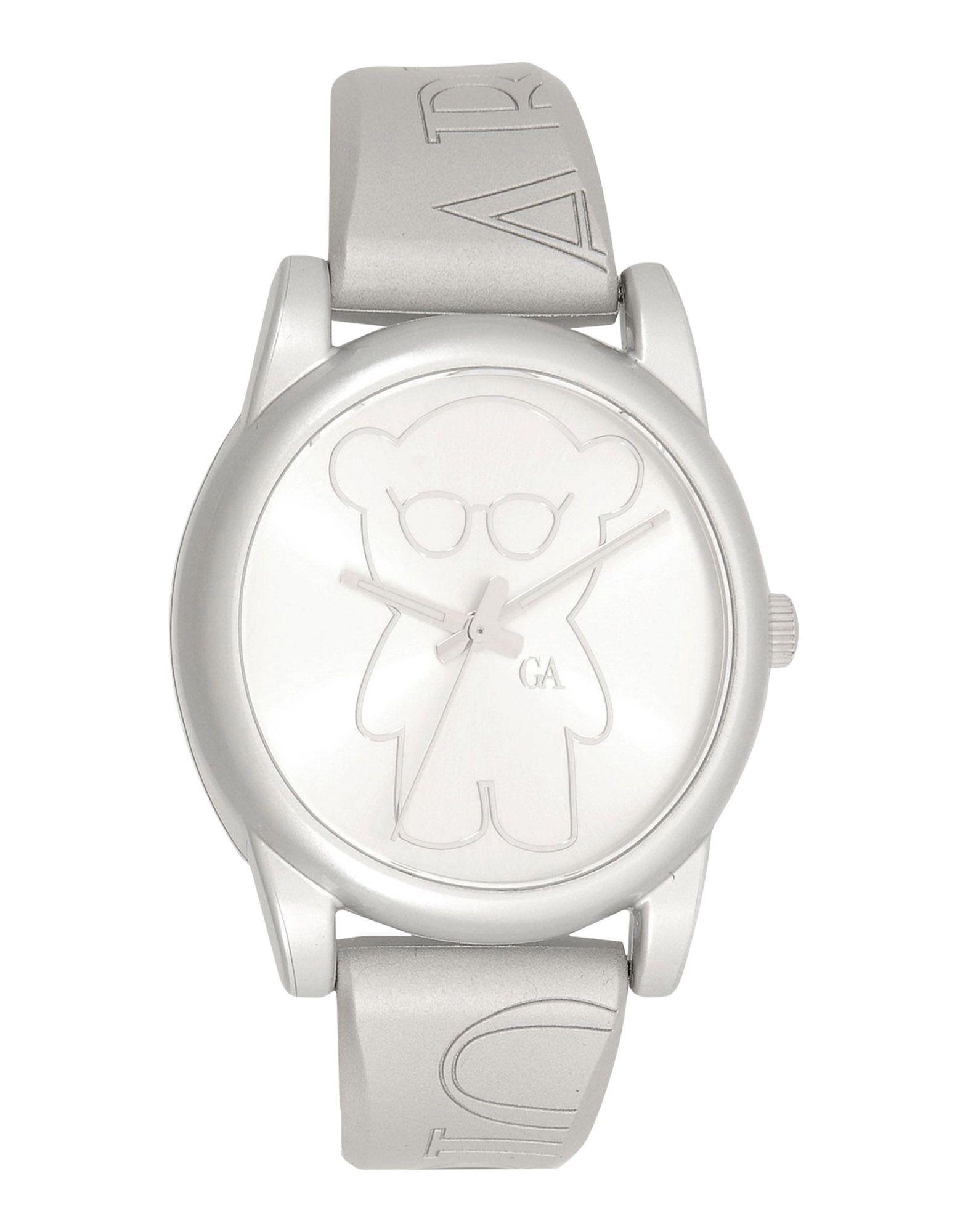 EMPORIO ARMANI Unisex Armbanduhr Farbe Silber Größe 1 - broschei