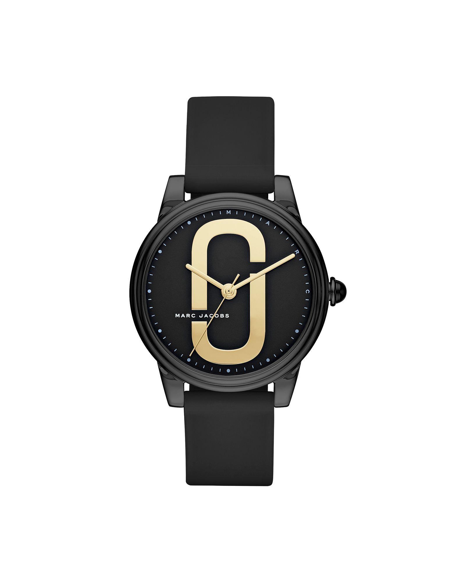 レディース MARC JACOBS CORIE 腕時計 ブラック