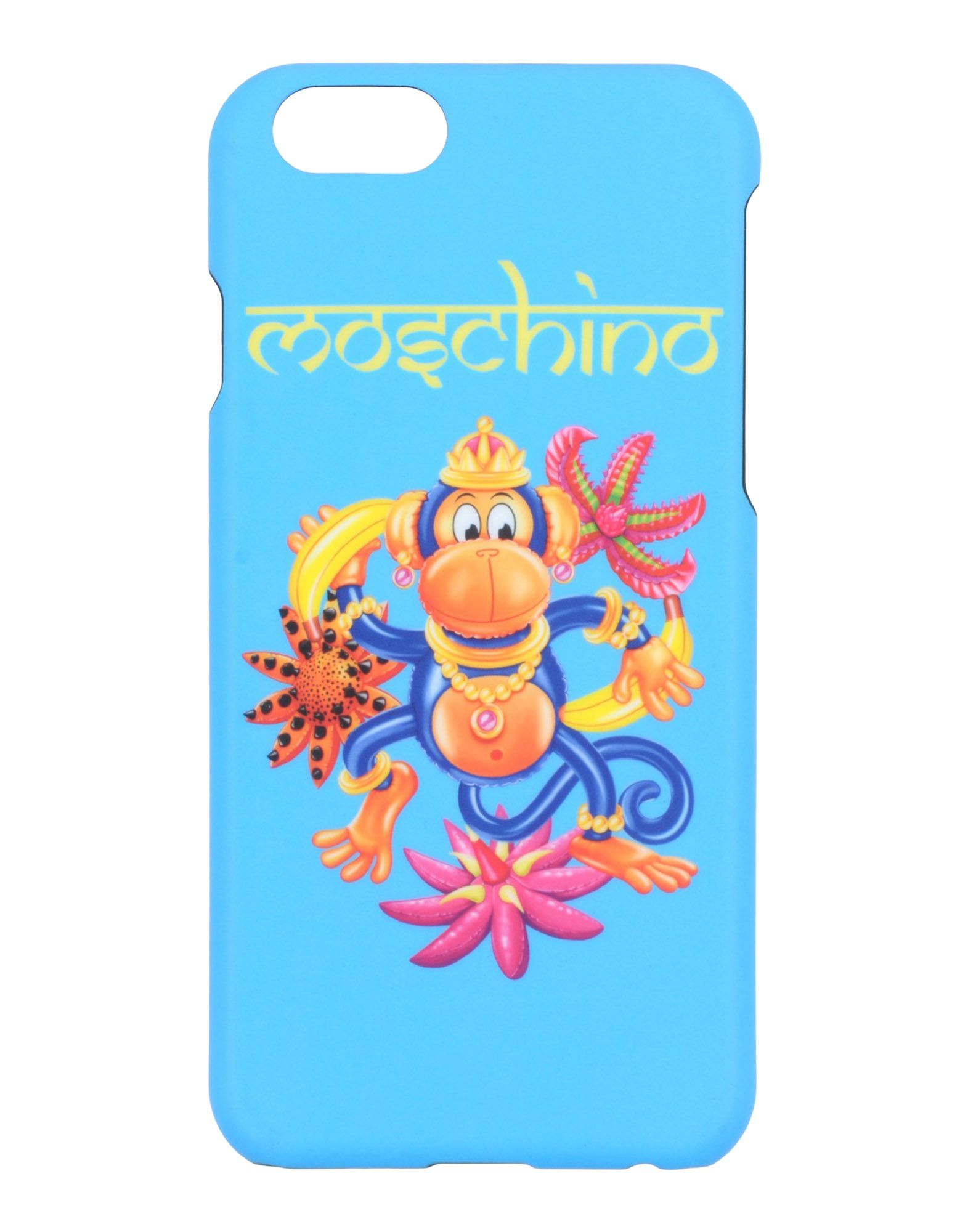 MOSCHINO Чехол gumai silky case for iphone 6 6s black