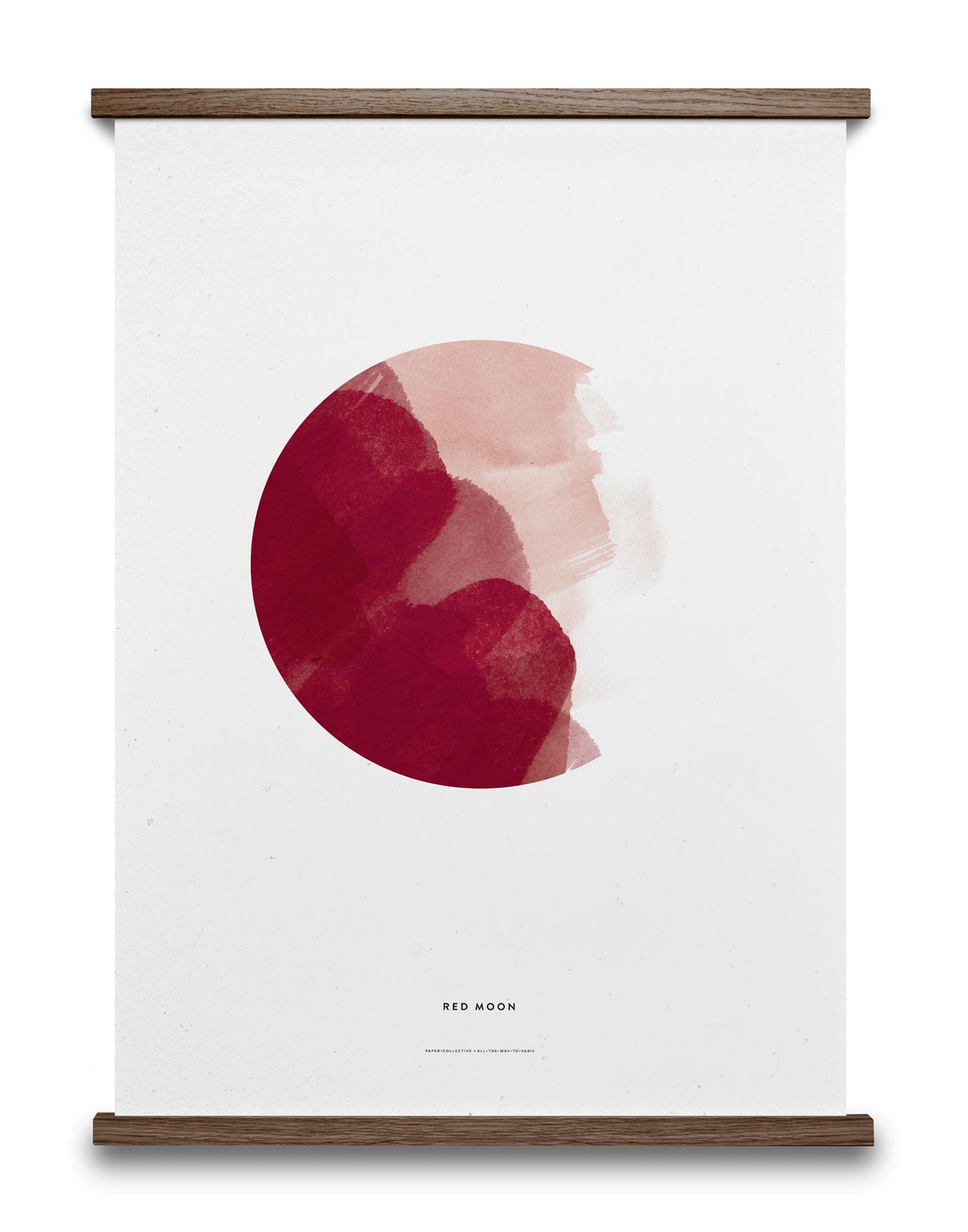 《セール開催中》PAPER COLLECTIVE Unisex デコレーション (-) 指定外繊維(紙) Red Moon