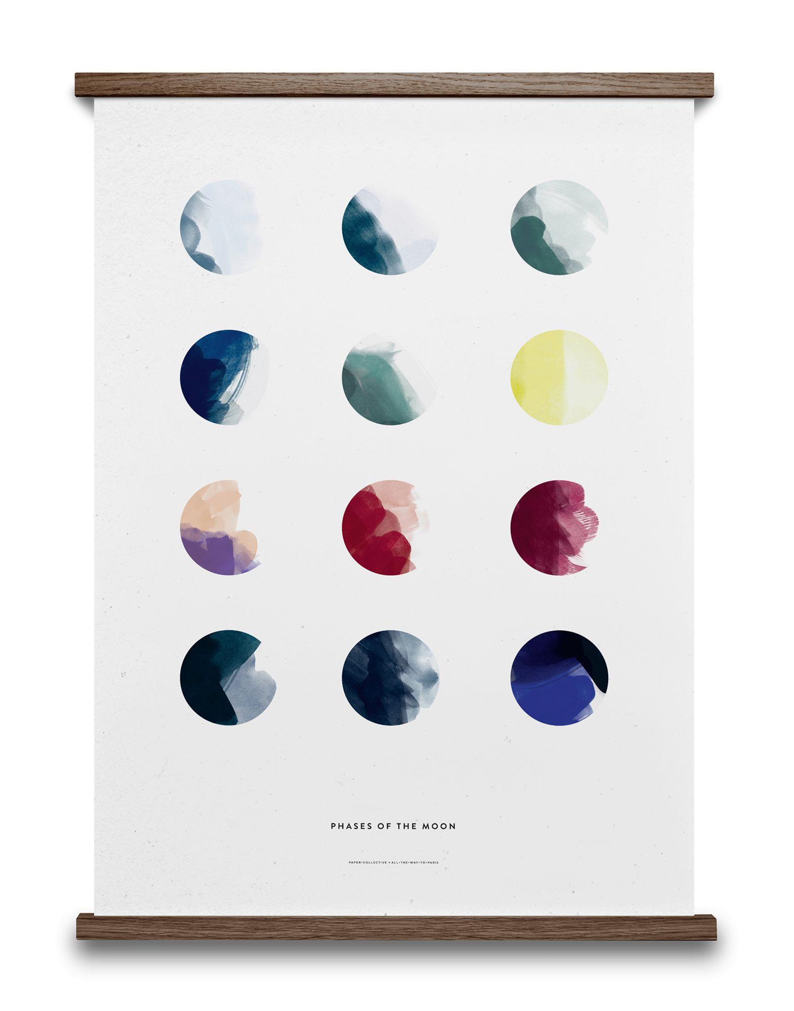 《セール開催中》PAPER COLLECTIVE Unisex デコレーション (-) 指定外繊維(紙) Moon Phases