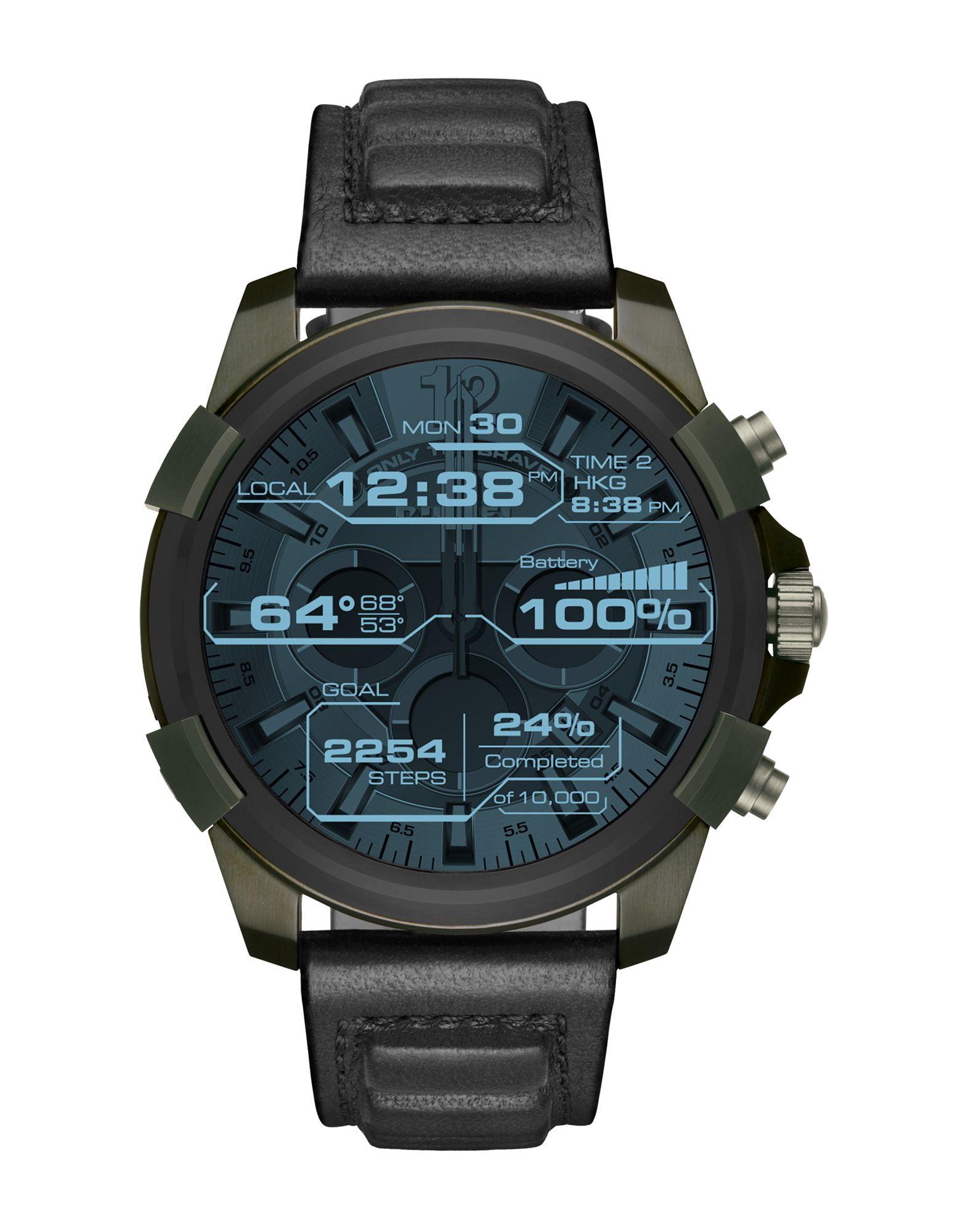 DIESEL ON Herren Smartwatch Farbe Schwarz Größe 1 - broschei