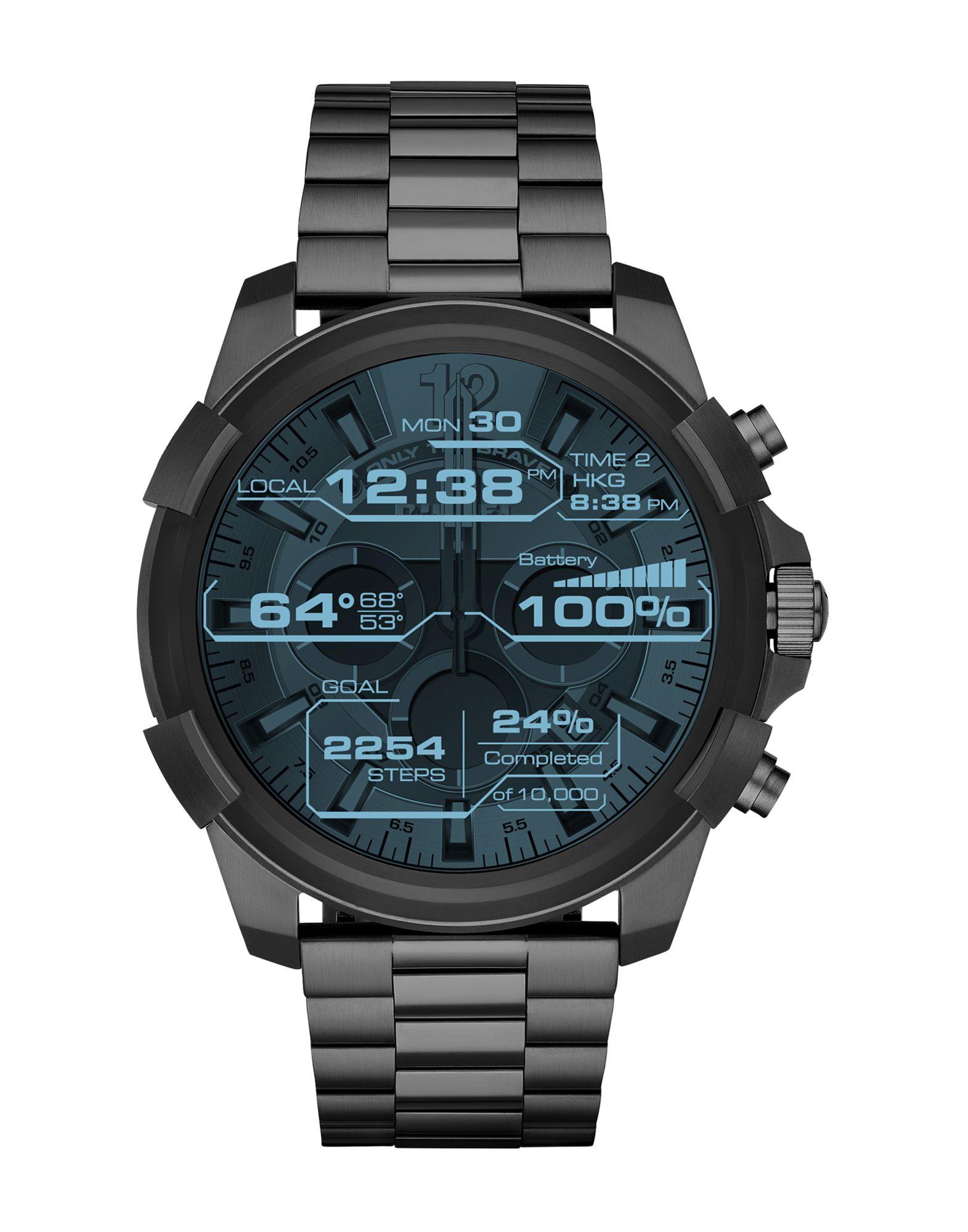 DIESEL ON Herren Smartwatch Farbe Blei Größe 1 - broschei