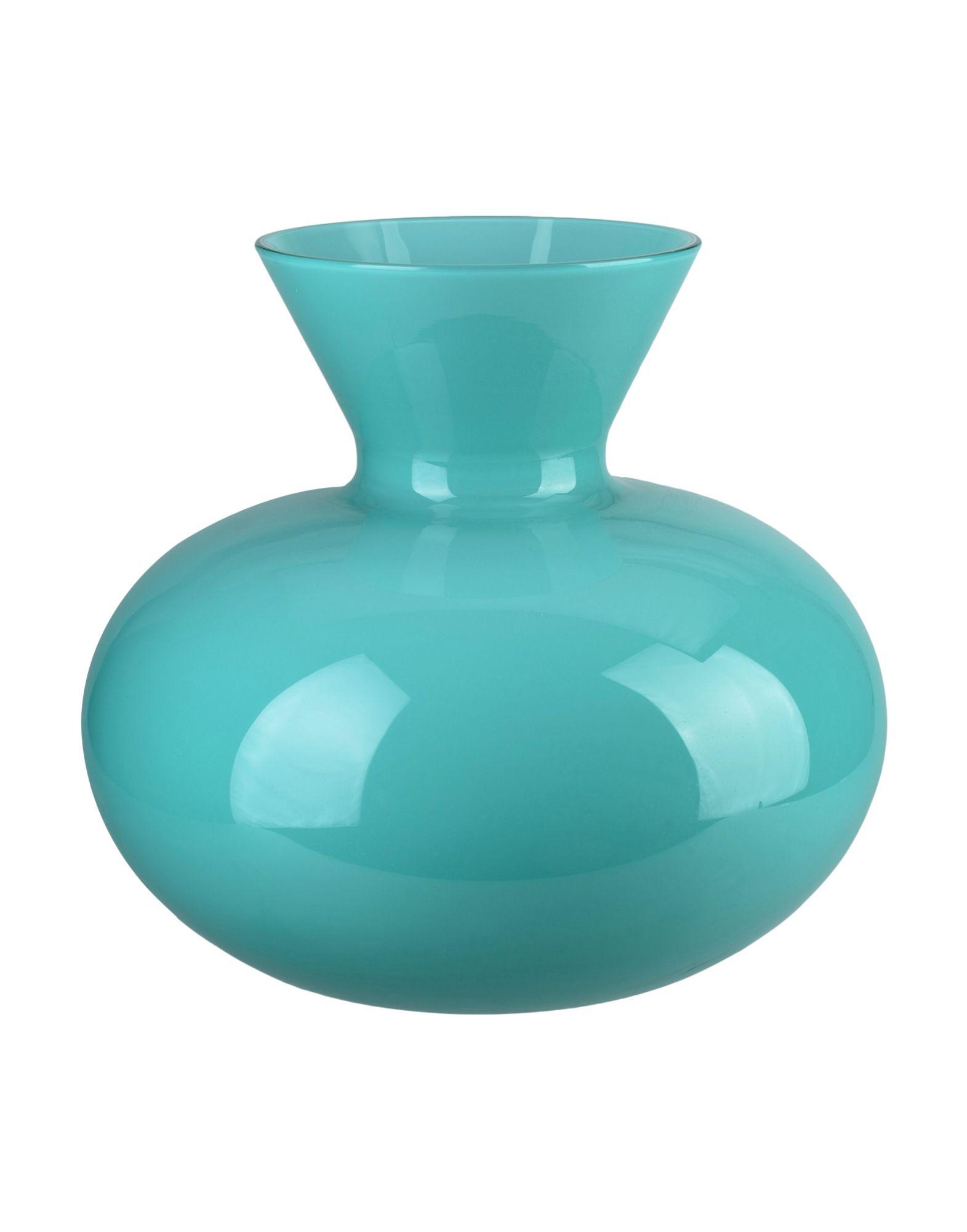 《セール開催中》VENINI Unisex ベース ターコイズブルー ガラス 100% Idria