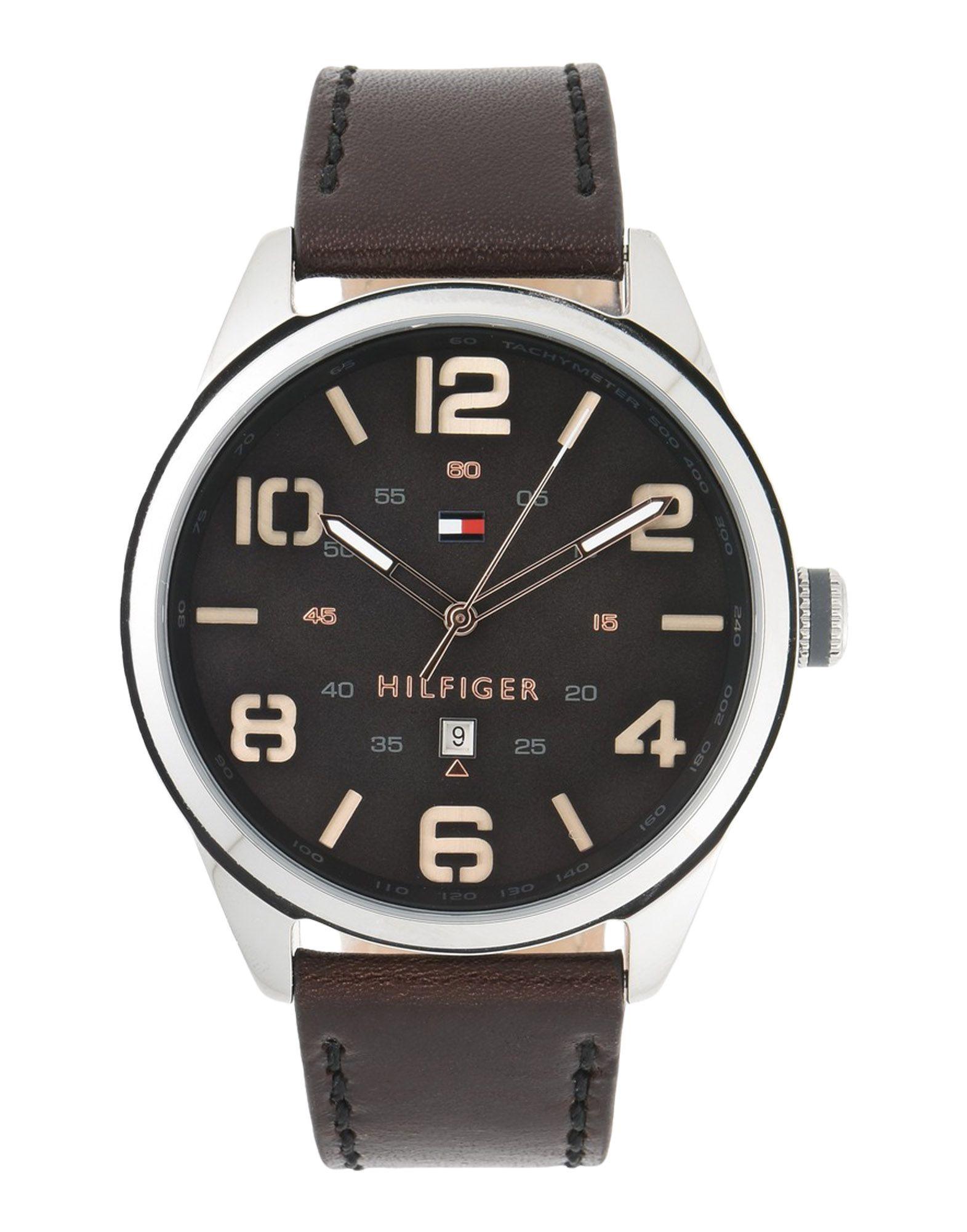 メンズ トミー ヒルフィガー 腕時計 ブラック