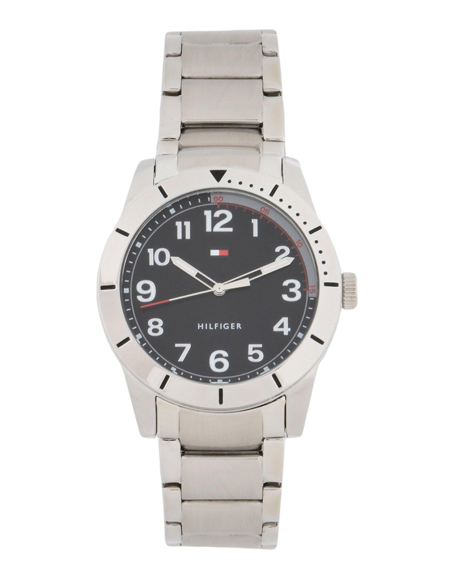 メンズ トミー ヒルフィガー 腕時計 シルバー