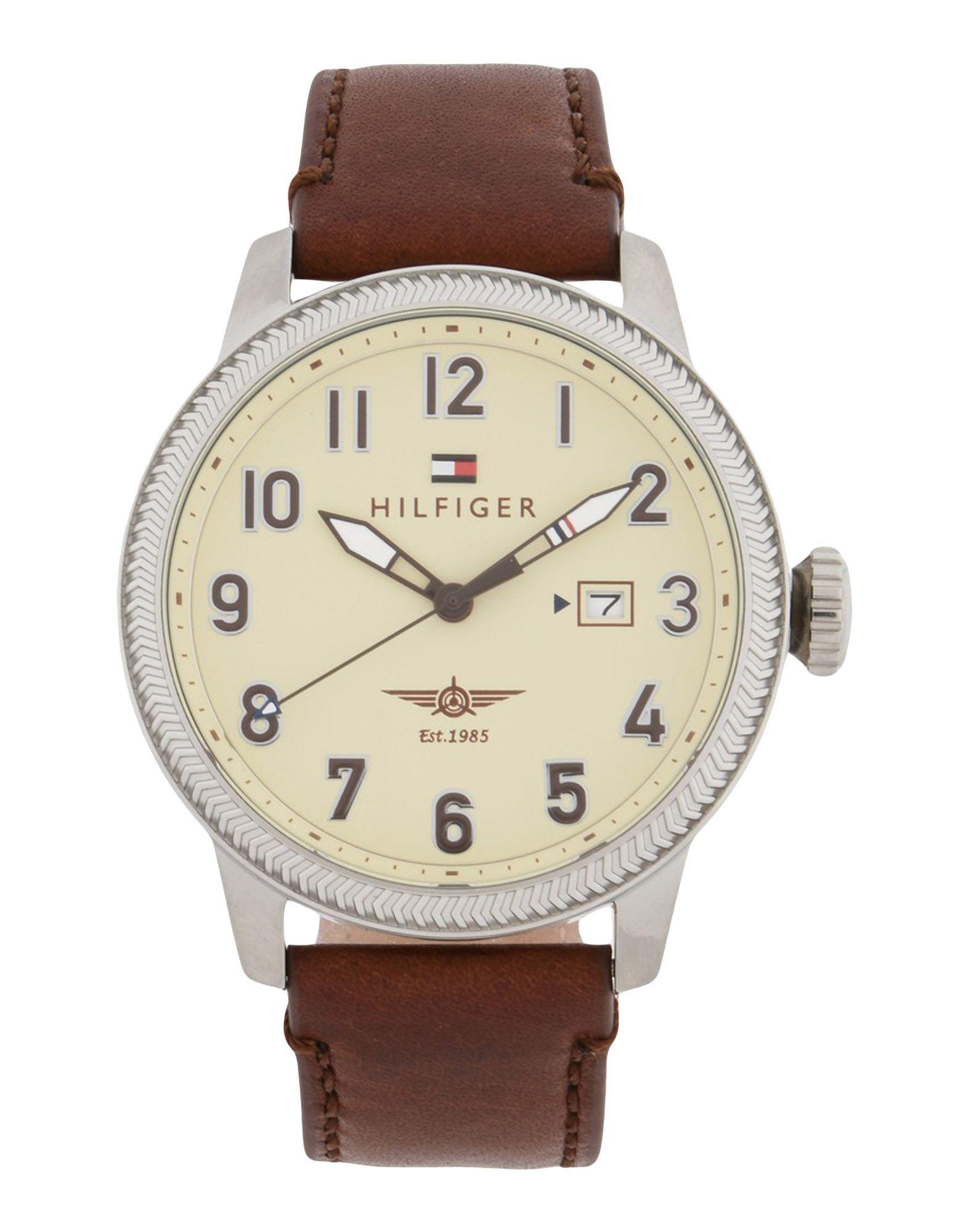 メンズ トミー ヒルフィガー 腕時計 ベージュ