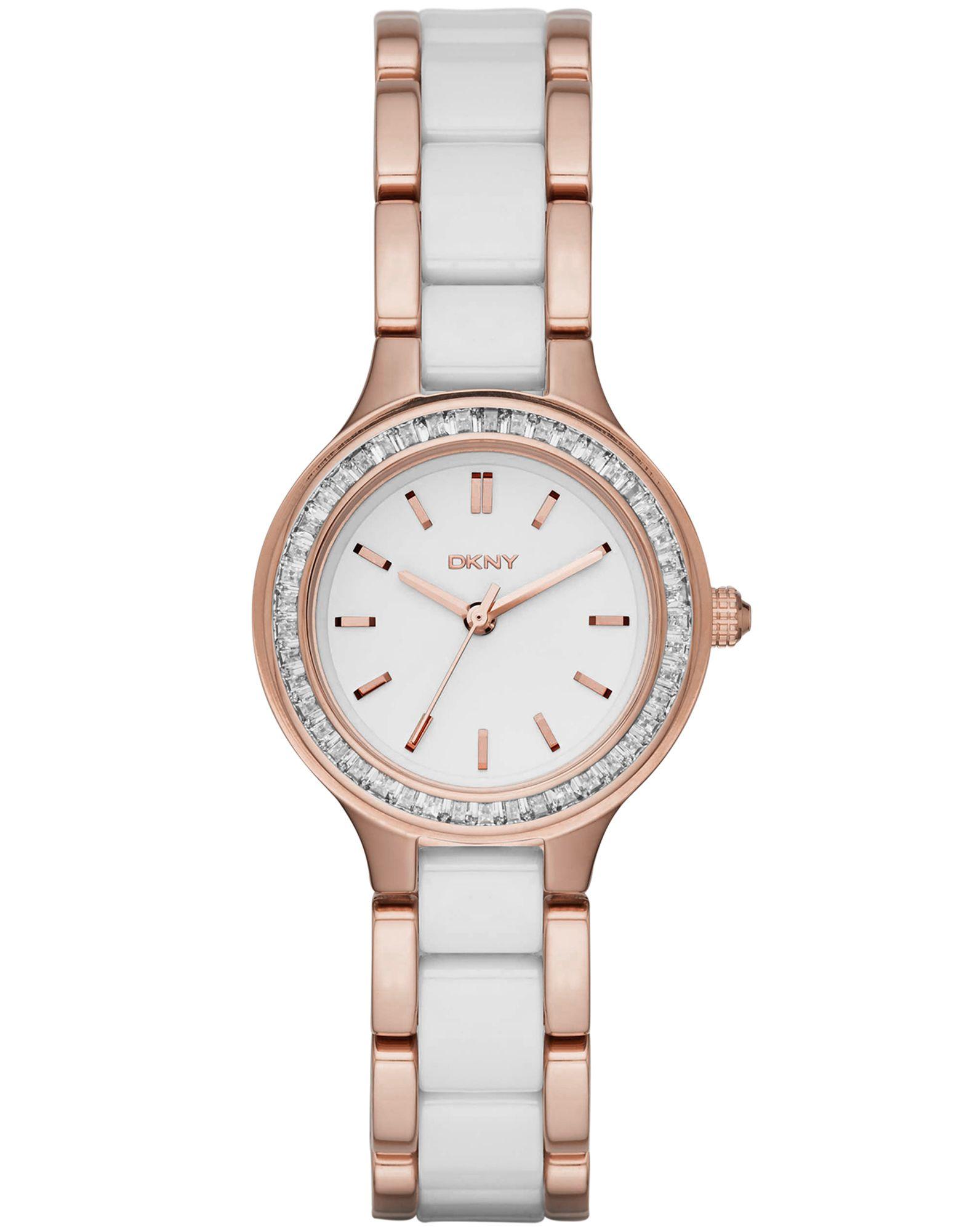レディース DKNY CHAMBERS 腕時計 ホワイト