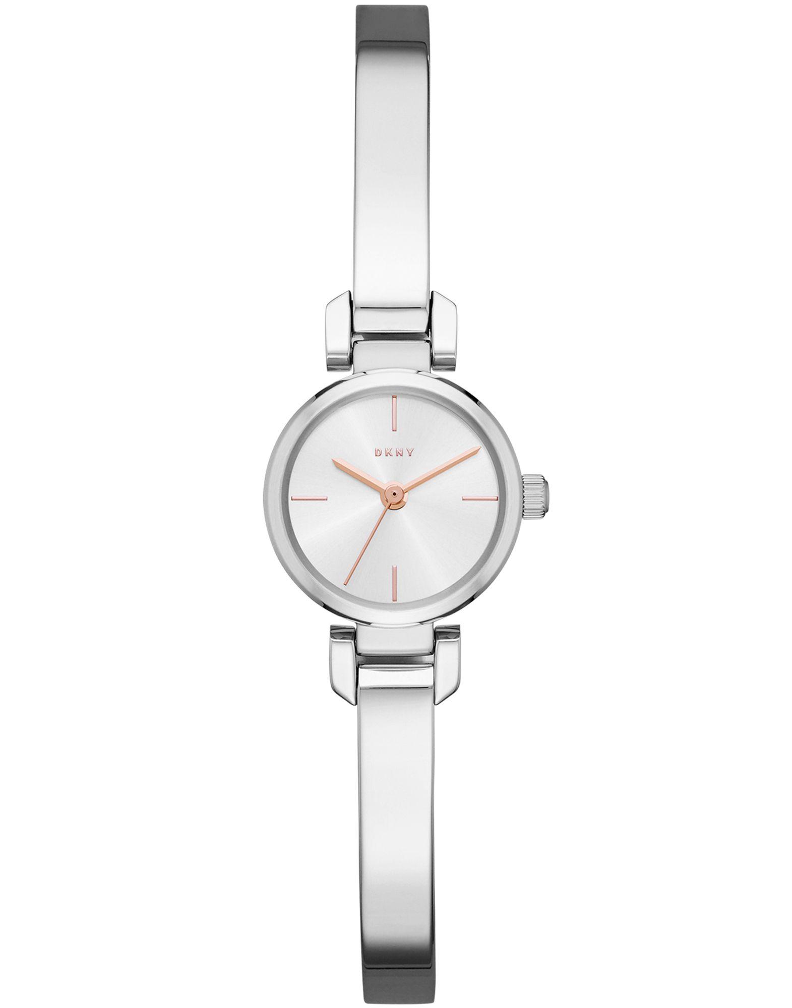 《送料無料》DKNY レディース 腕時計 シルバー ステンレススチール ELLINGTON