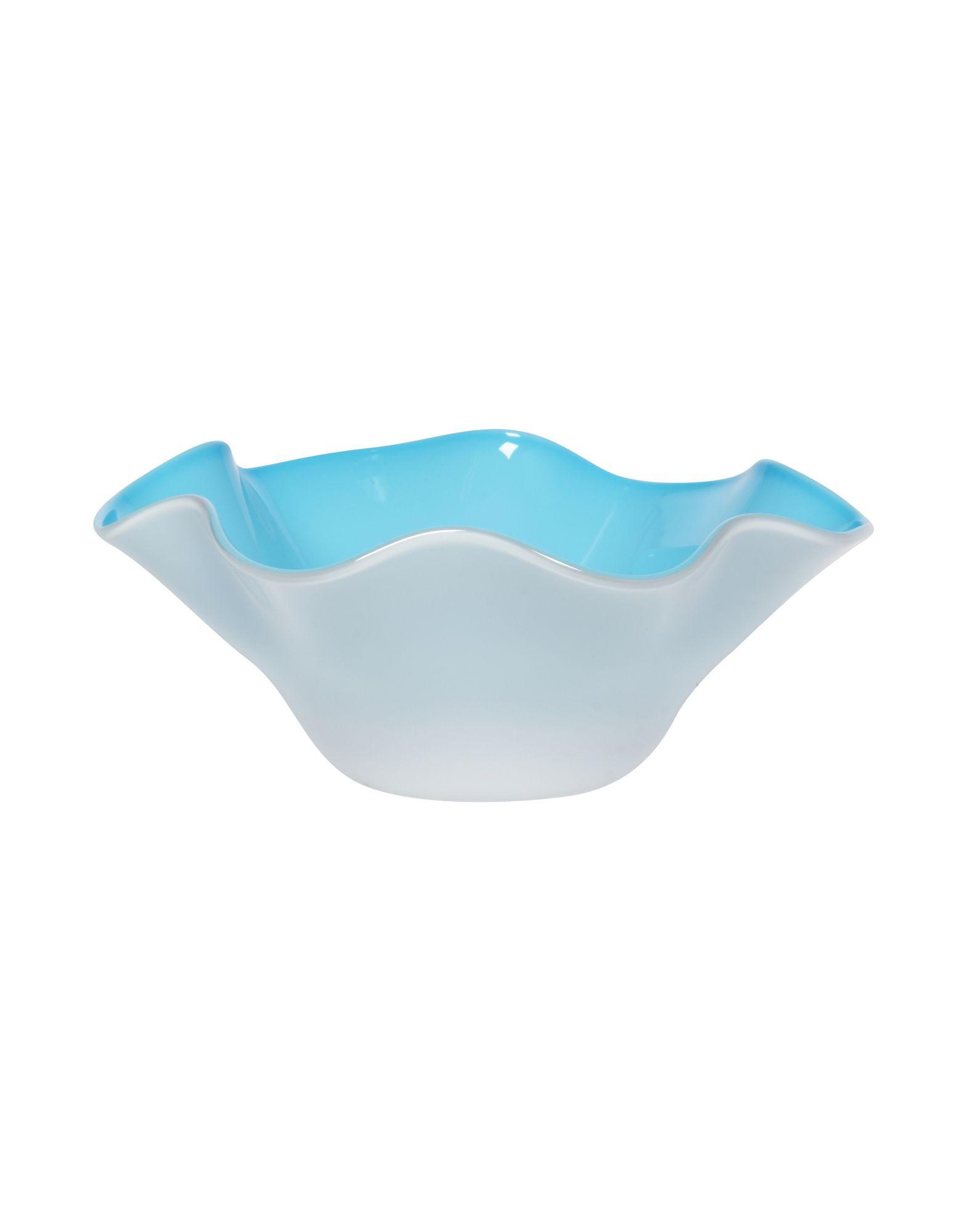 《期間限定セール開催中!》VENINI Unisex ベース スカイブルー ガラス Fazzoletto