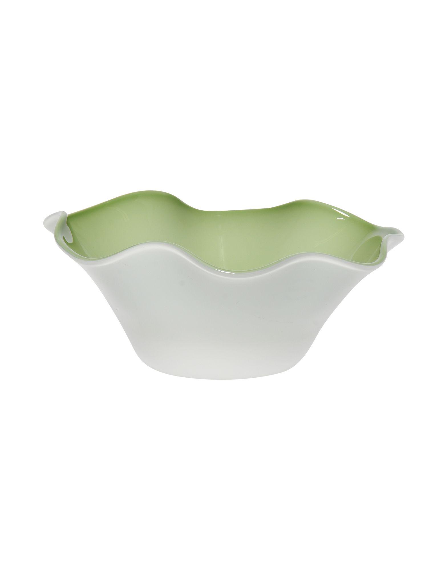 《期間限定セール開催中!》VENINI Unisex ベース グリーン ガラス Fazzoletto