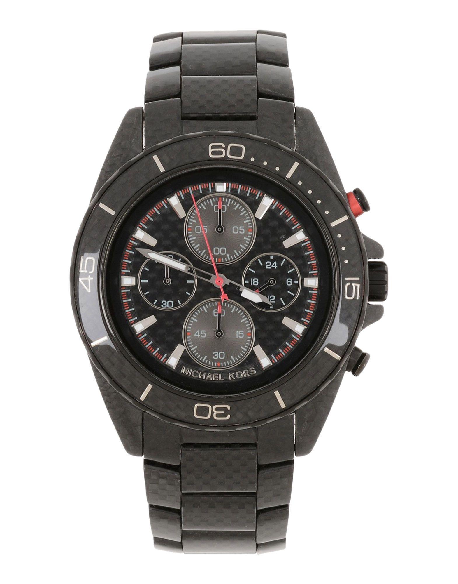 MICHAEL KORS Herren Armbanduhr Farbe Schwarz Größe 1 jetztbilligerkaufen