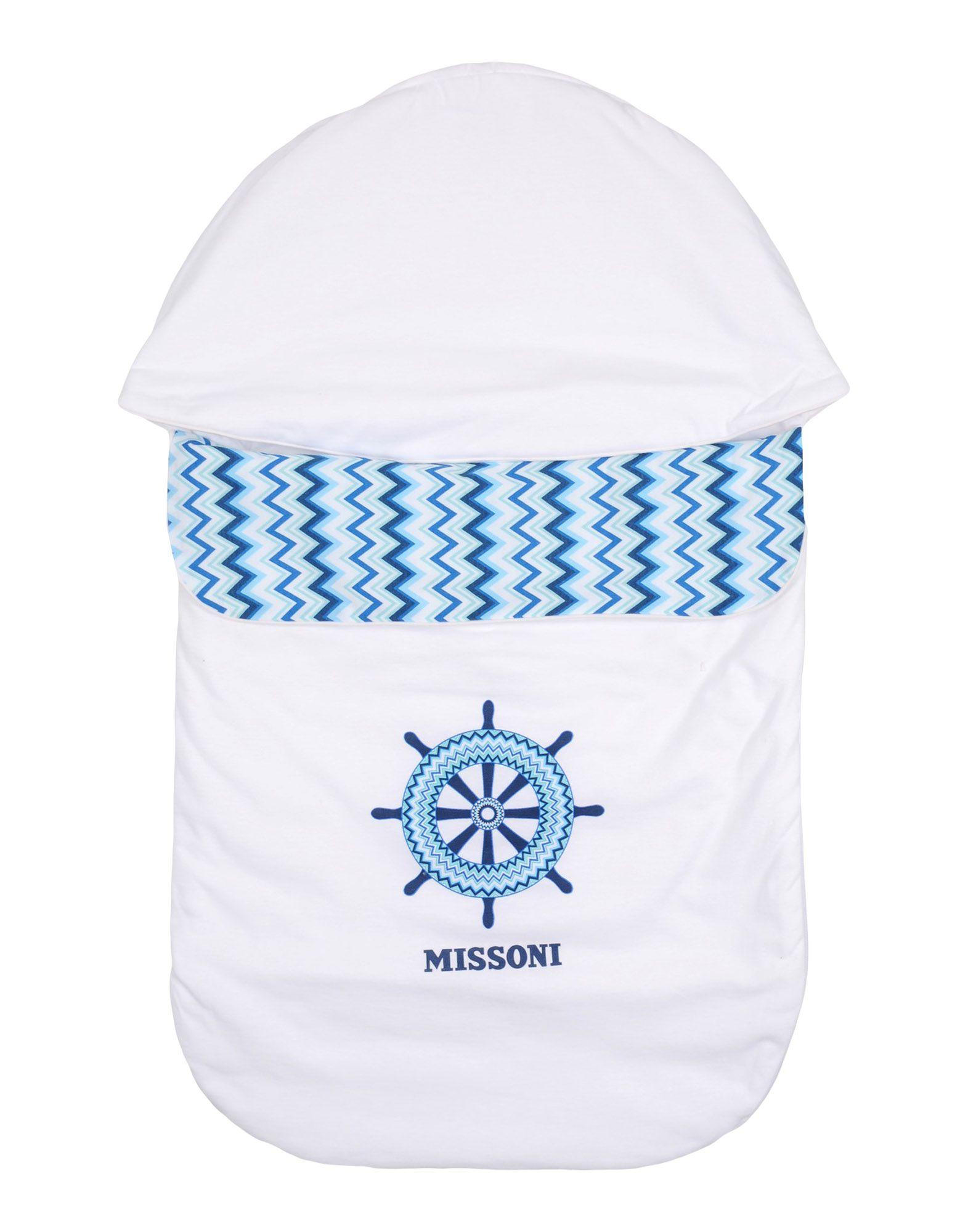 MISSONI KIDS Mädchen 0-24 monate Babyschlafsack Farbe Weiß Größe 1 jetztbilligerkaufen