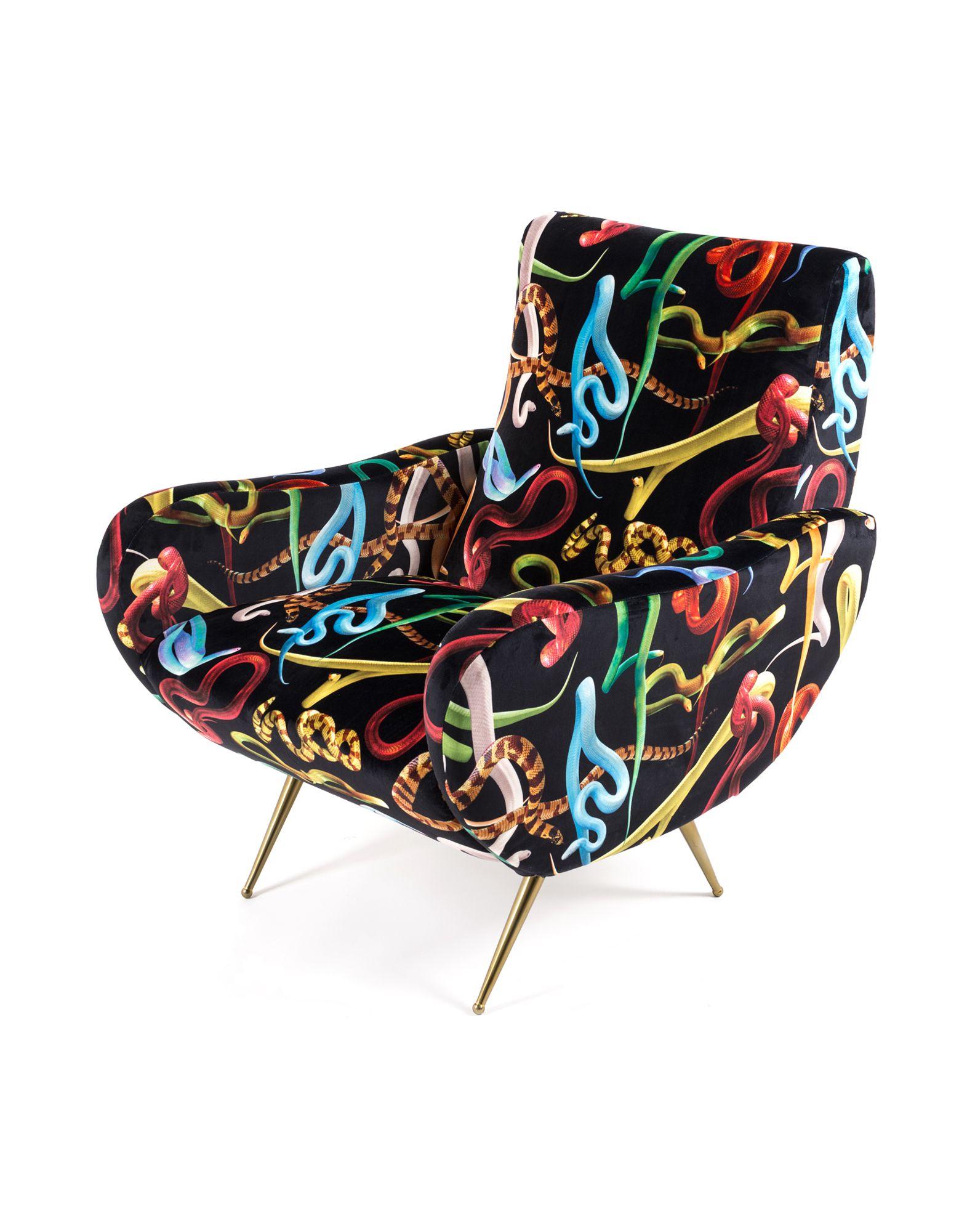 SELETTI WEARS TOILETPAPER Unisex Sessel Farbe Schwarz Größe 1 jetztbilligerkaufen