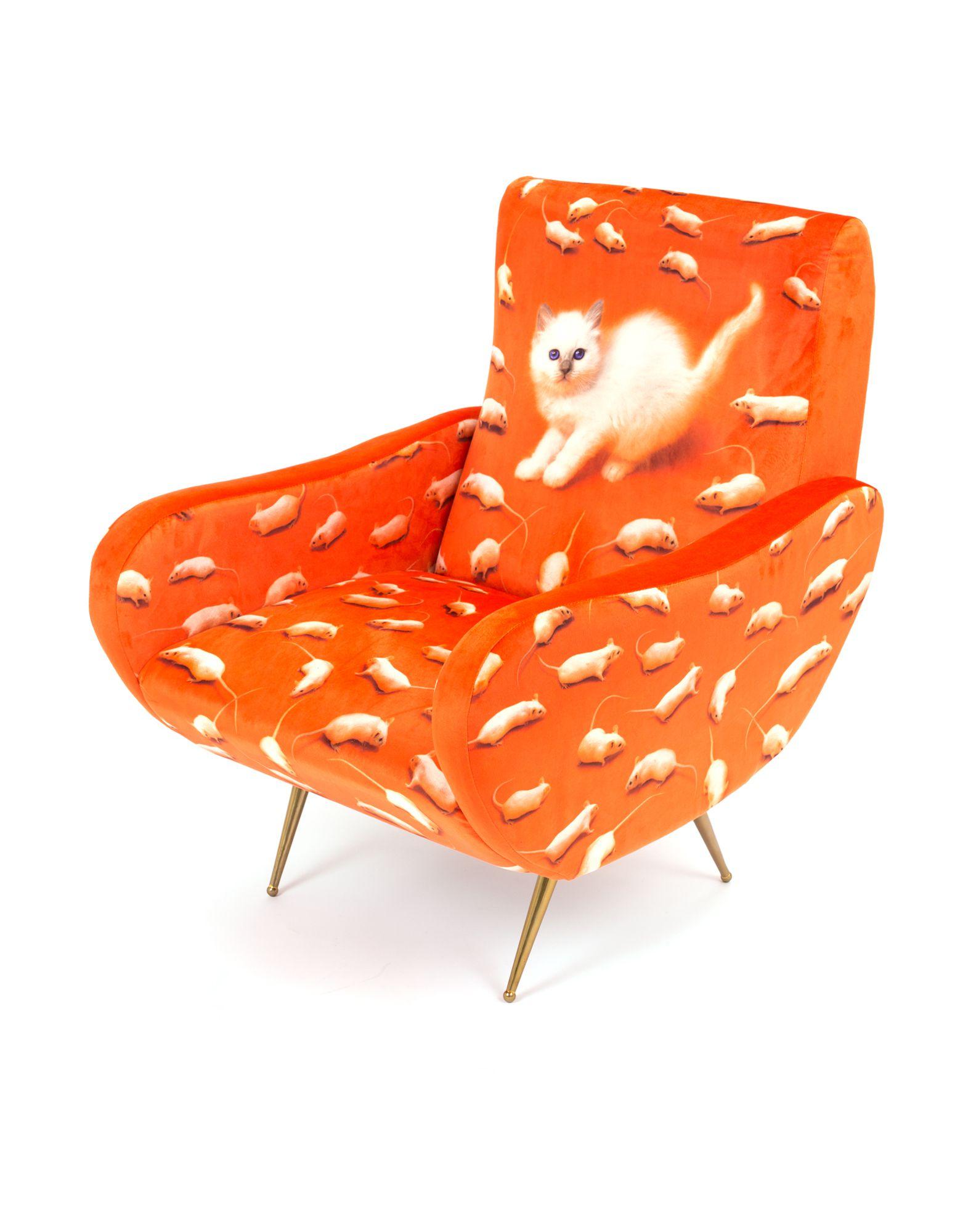 SELETTI WEARS TOILETPAPER Unisex Sessel Farbe Rot Größe 1 jetztbilligerkaufen