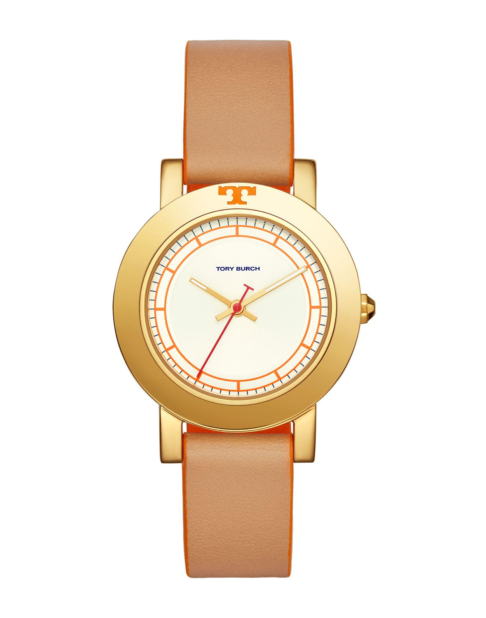 《送料無料》TORY BURCH レディース 腕時計 サンド 革 / スチール