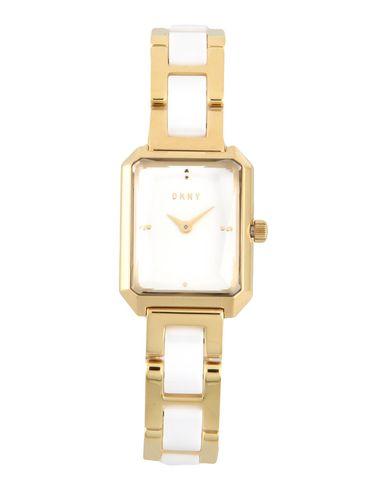 DKNY レディース 腕時計 ホワイト スチール CITYSPIRE