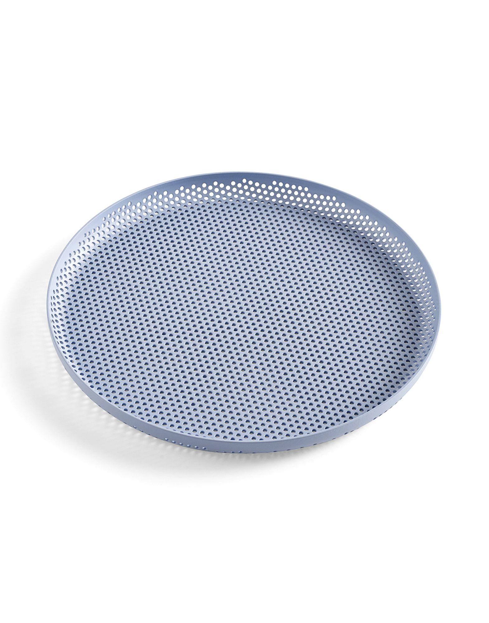 《セール開催中》HAY Unisex 雑貨 スカイブルー アルミニウム Perforated Tray M