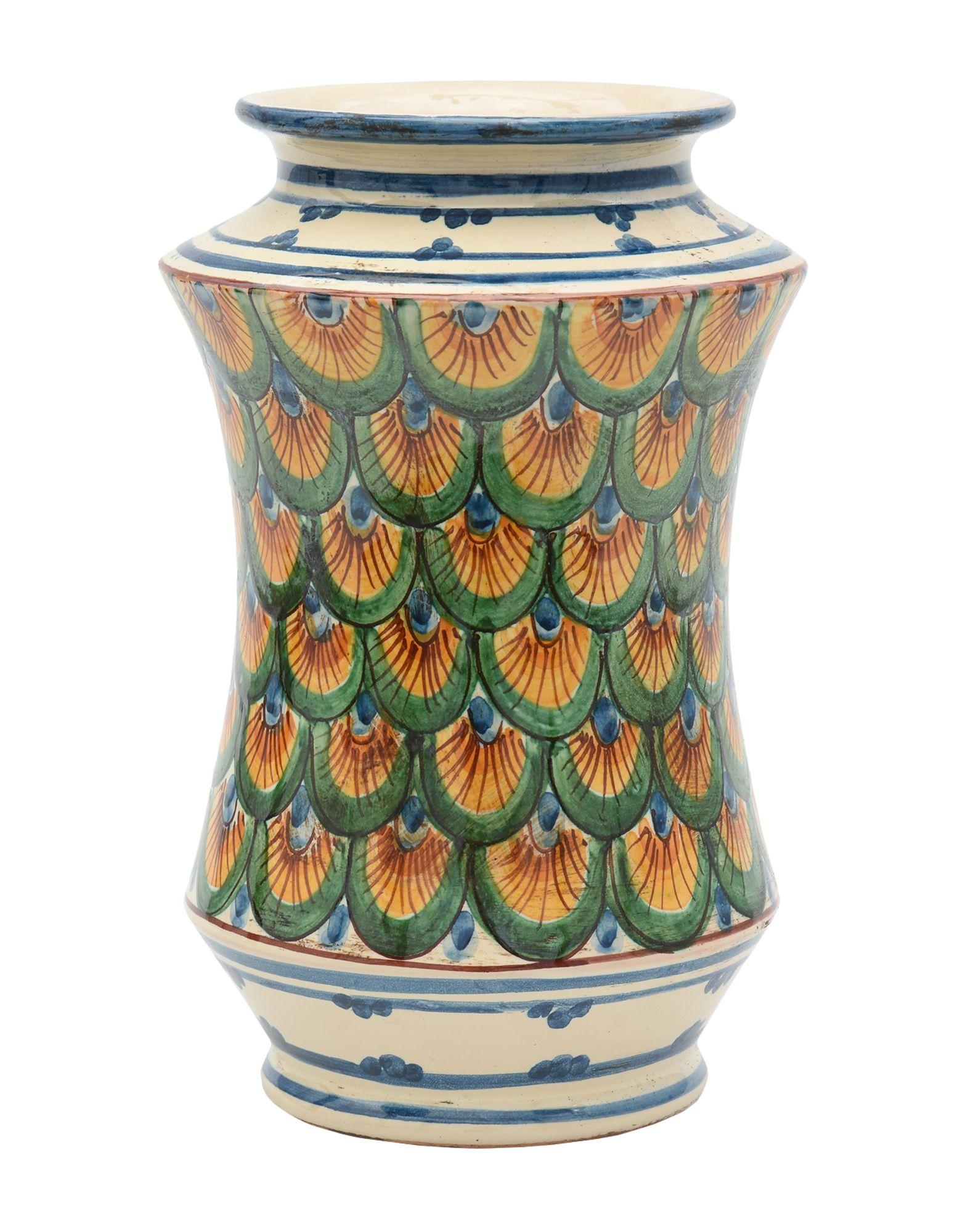 CERAMICHE SOFIA DI CALTAGIRONE Ваза декор impronta ceramiche square wall blu formelle glitter 12 25x25