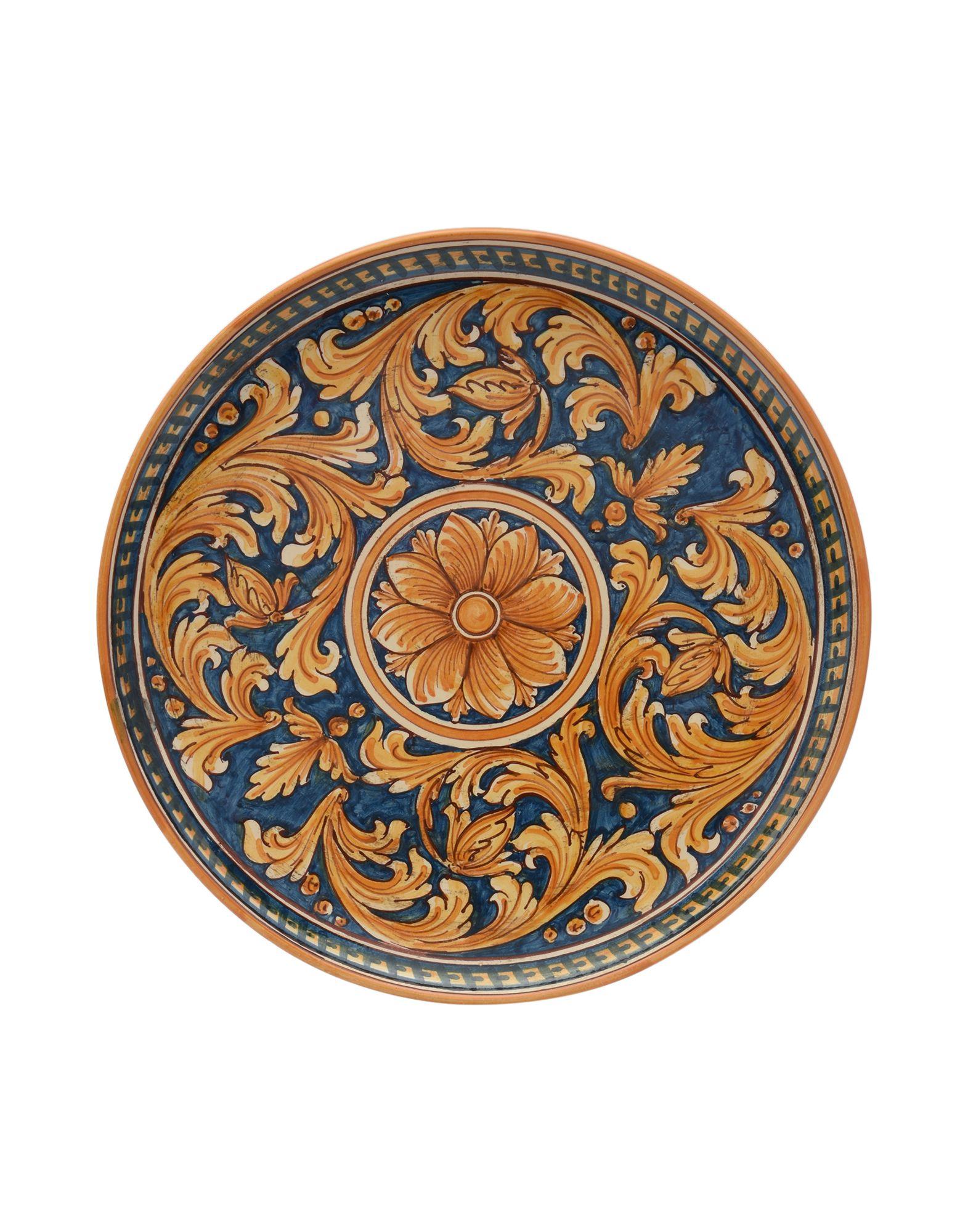 CERAMICHE SOFIA DI CALTAGIRONE Декоративная тарелка sofia п 306