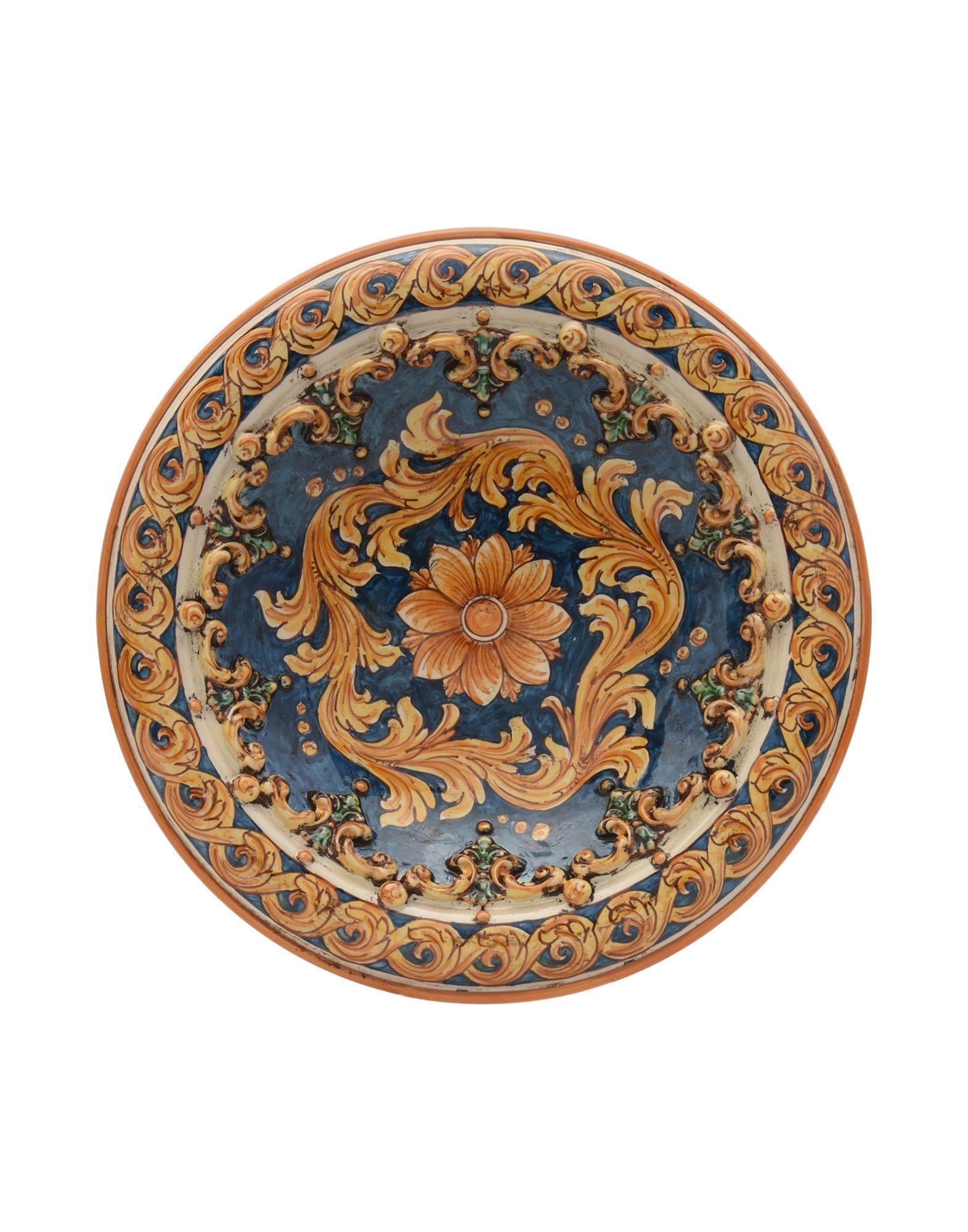 CERAMICHE SOFIA DI CALTAGIRONE Декоративная тарелка sofia zharova сине зимнее пальто ручной работы марки sofia zharova
