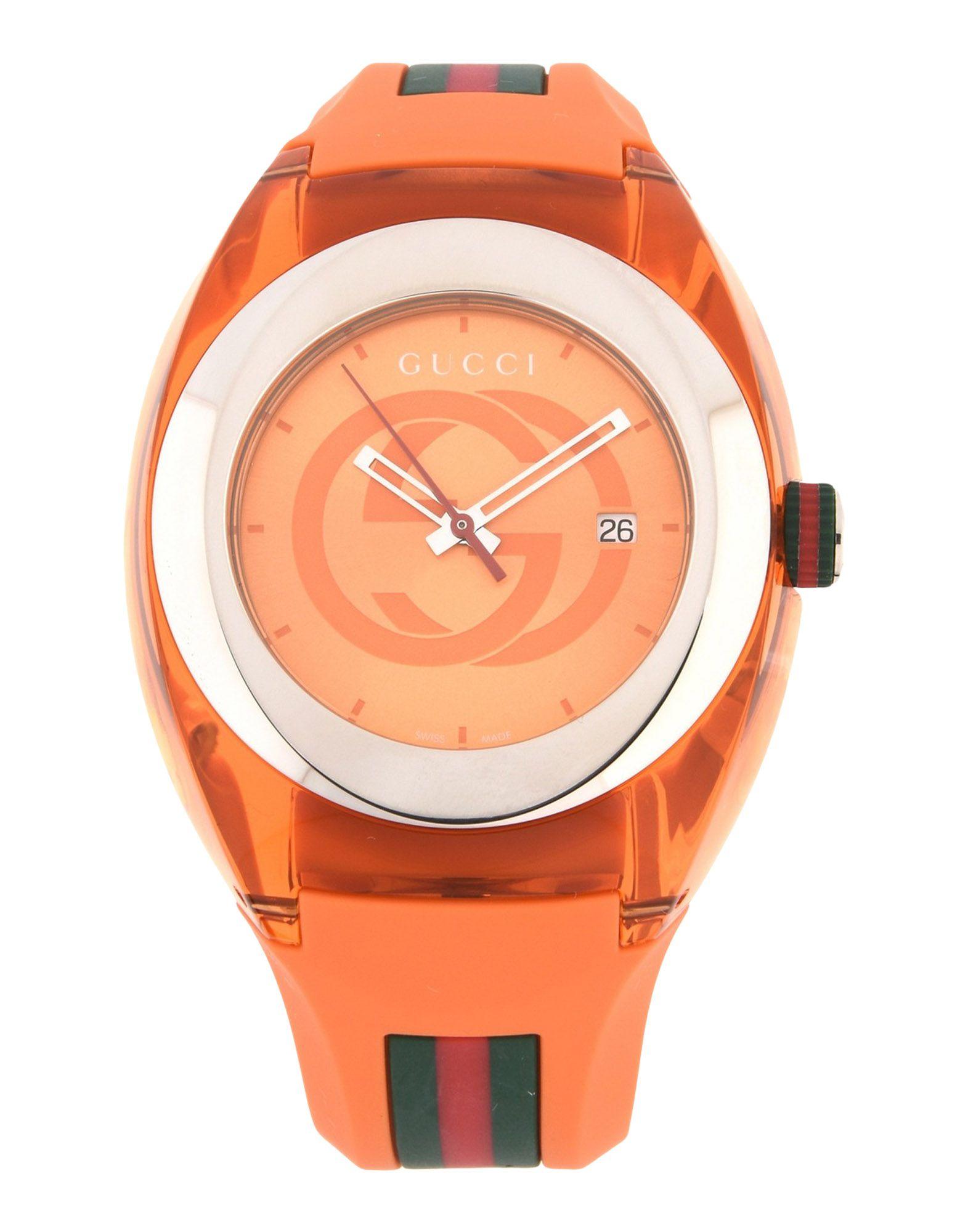 ユニセックス GUCCI GUCCI SYNC 腕時計 オレンジ