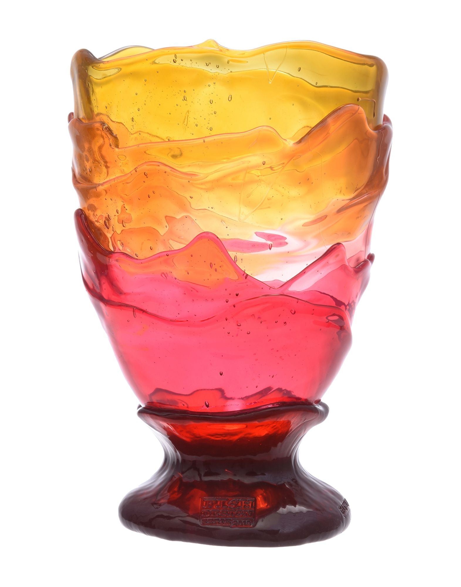 《セール開催中》FISH DESIGN Unisex ベース オレンジ ポリウレタン 100% BIG COLLINA