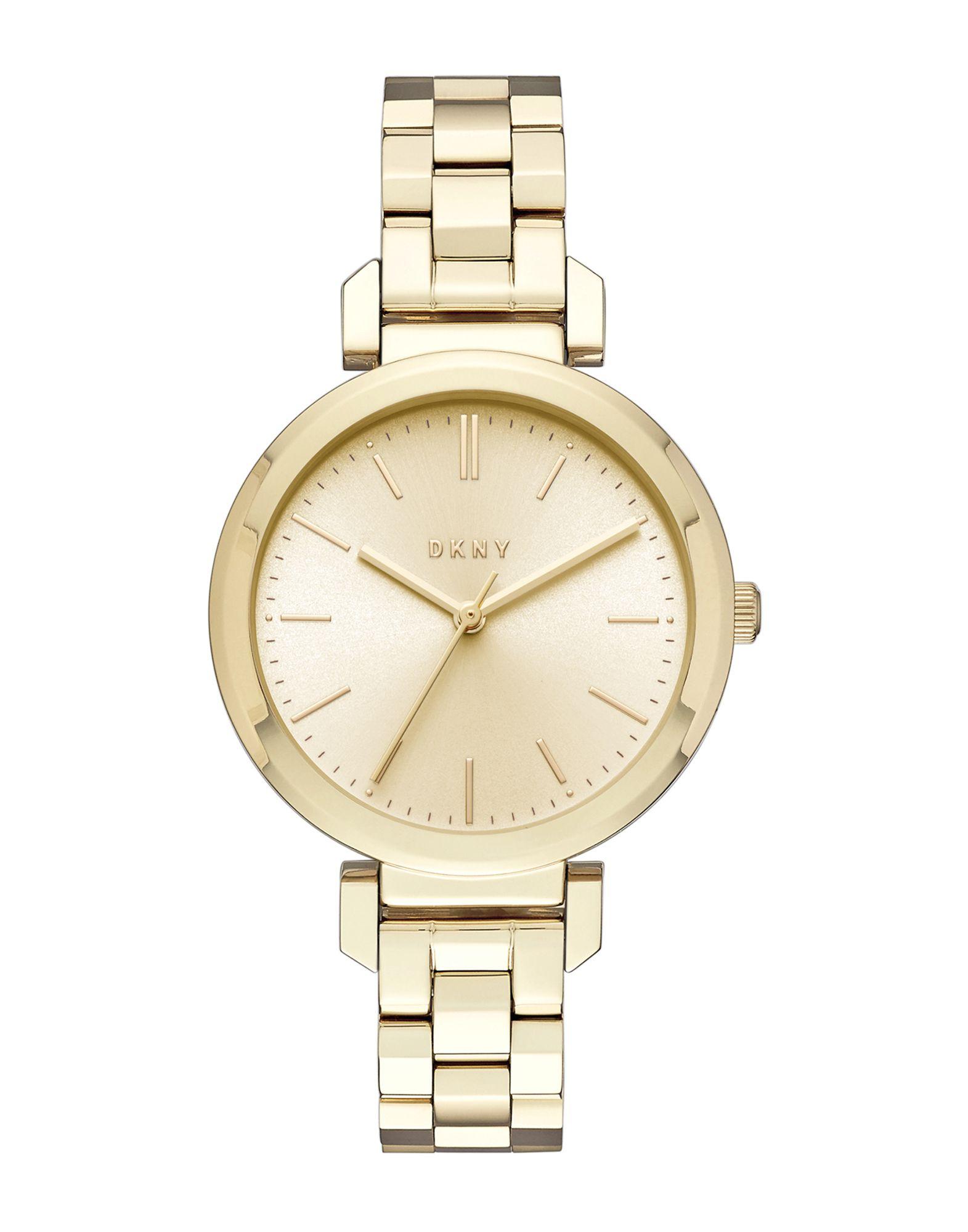 《送料無料》DKNY レディース 腕時計 ゴールド ステンレススチール ELLINGTON