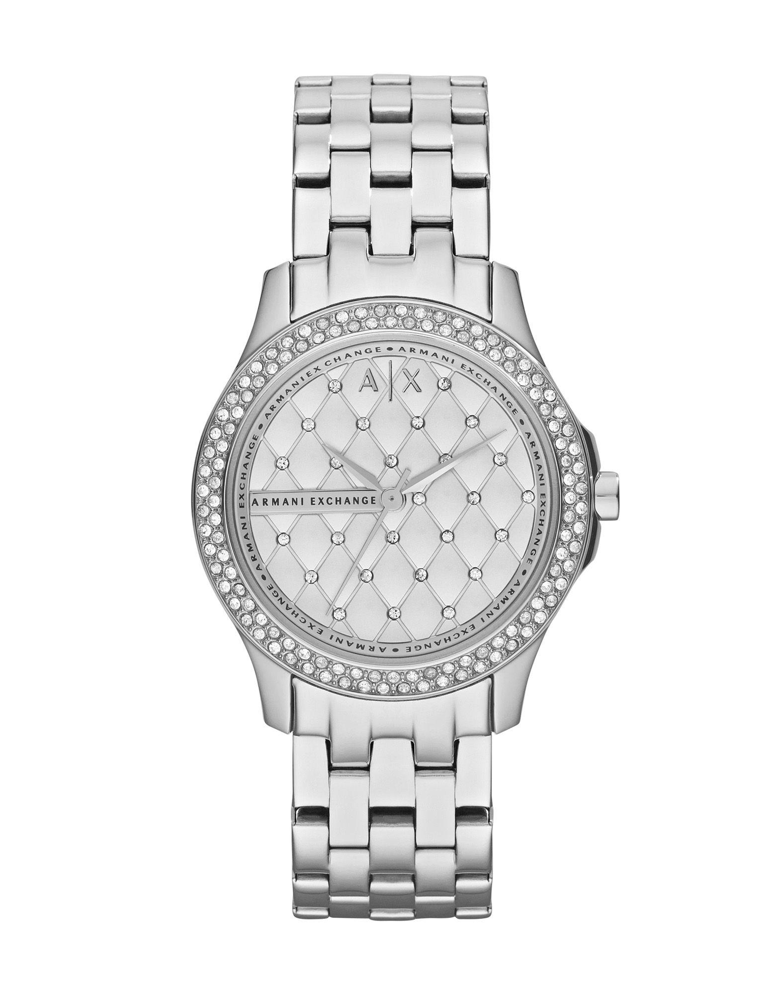 《送料無料》ARMANI EXCHANGE レディース 腕時計 ホワイト ステンレススチール