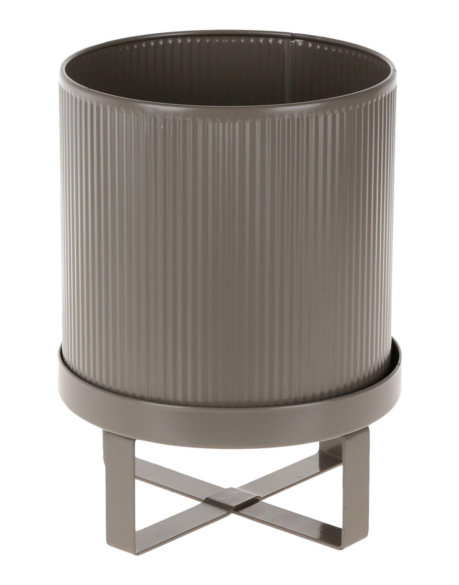 《送料無料》FERM LIVING Unisex ベース グレー スチール bau pot small