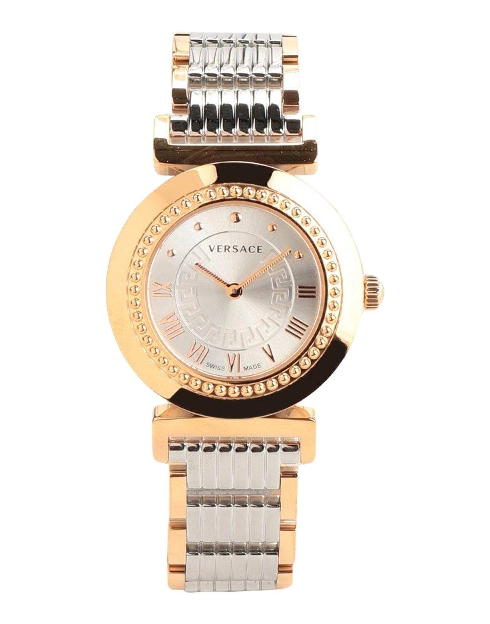 VERSACE Наручные часы часы женщины роскошные часы золото стальные женские платья наручные часы relogio feminino