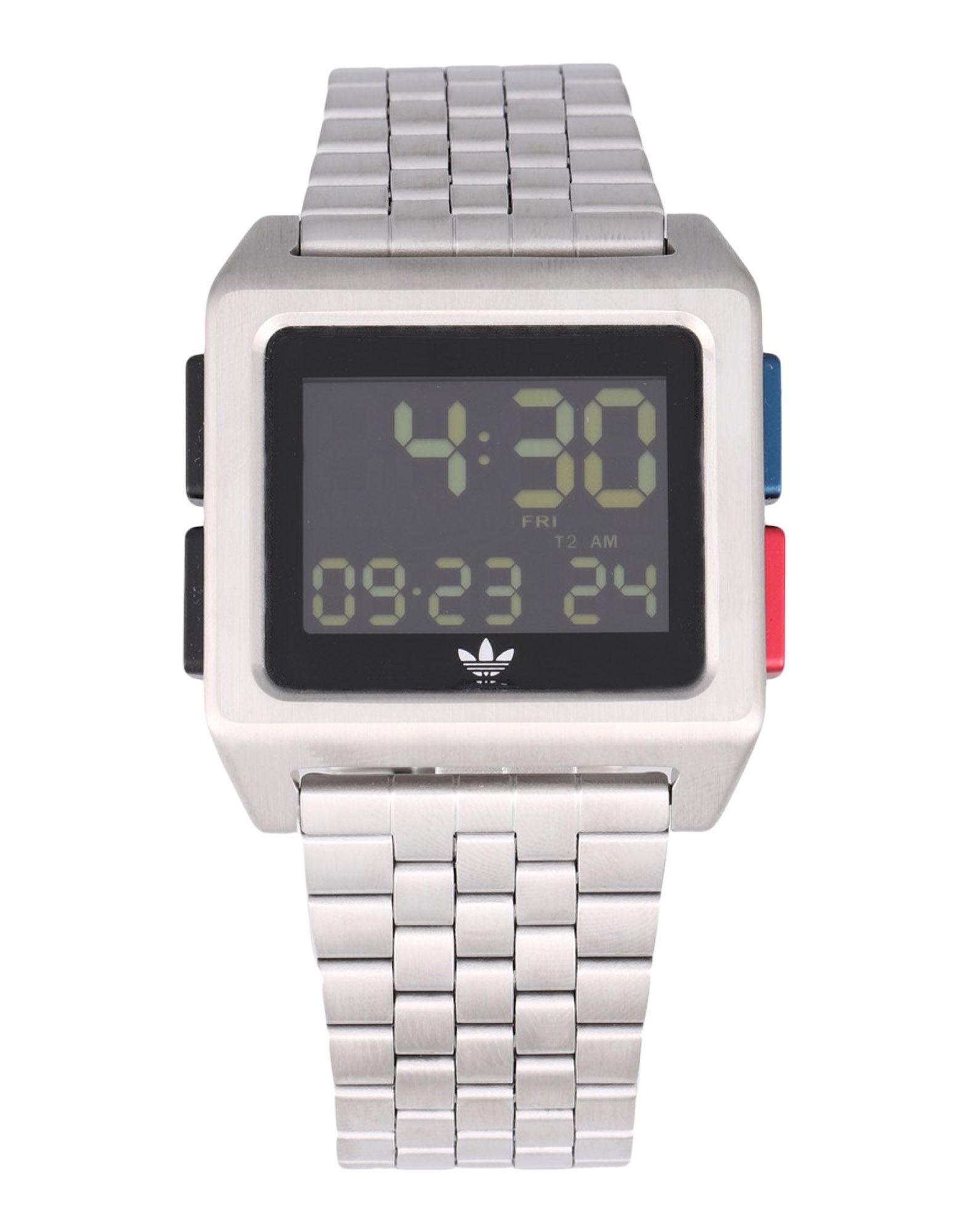 《送料無料》ADIDAS メンズ 腕時計 シルバー ステンレススチール