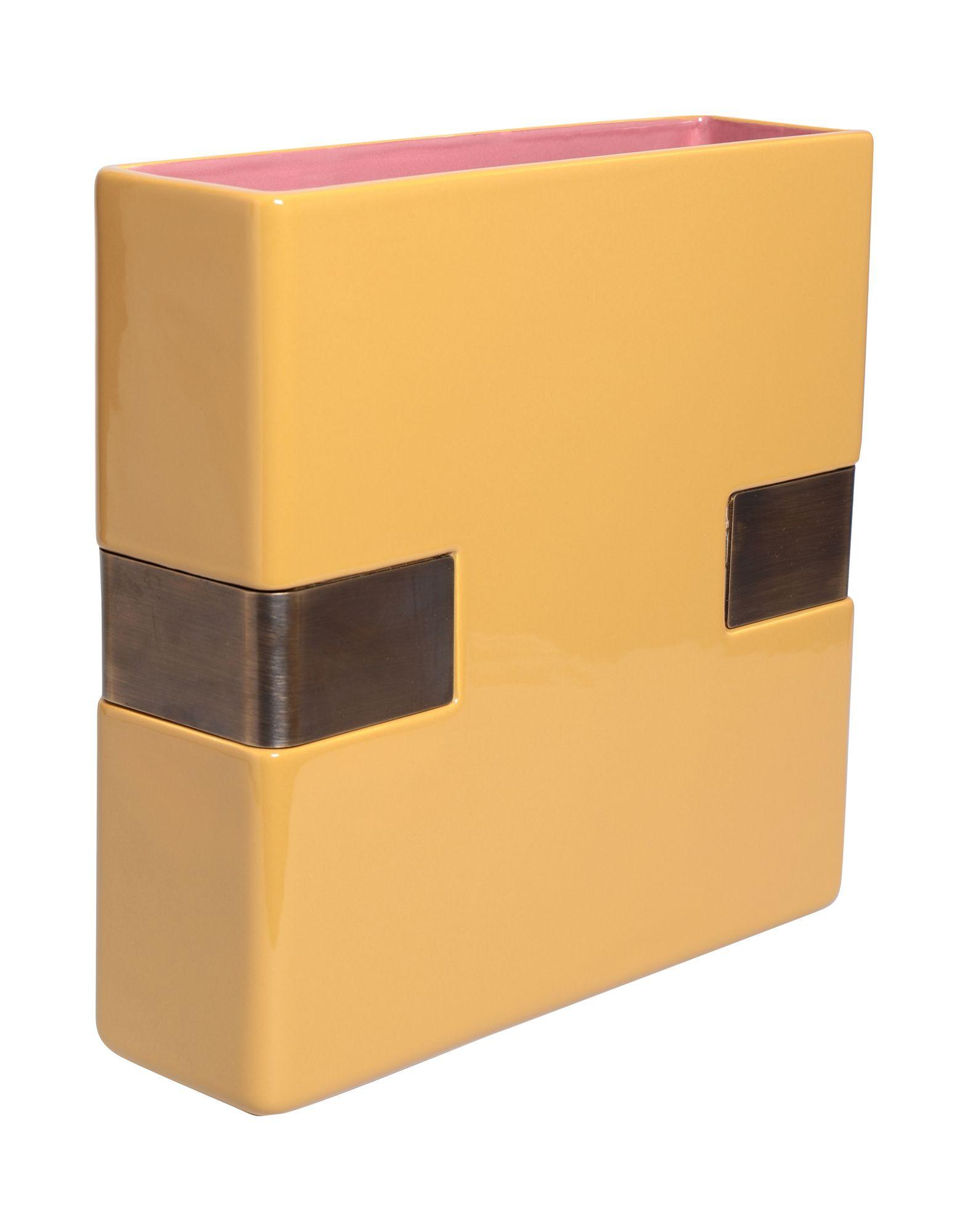 BITOSSI CERAMICHE Ваза вставка impronta ceramiche scrapwood fire tozzetto sq 5x15