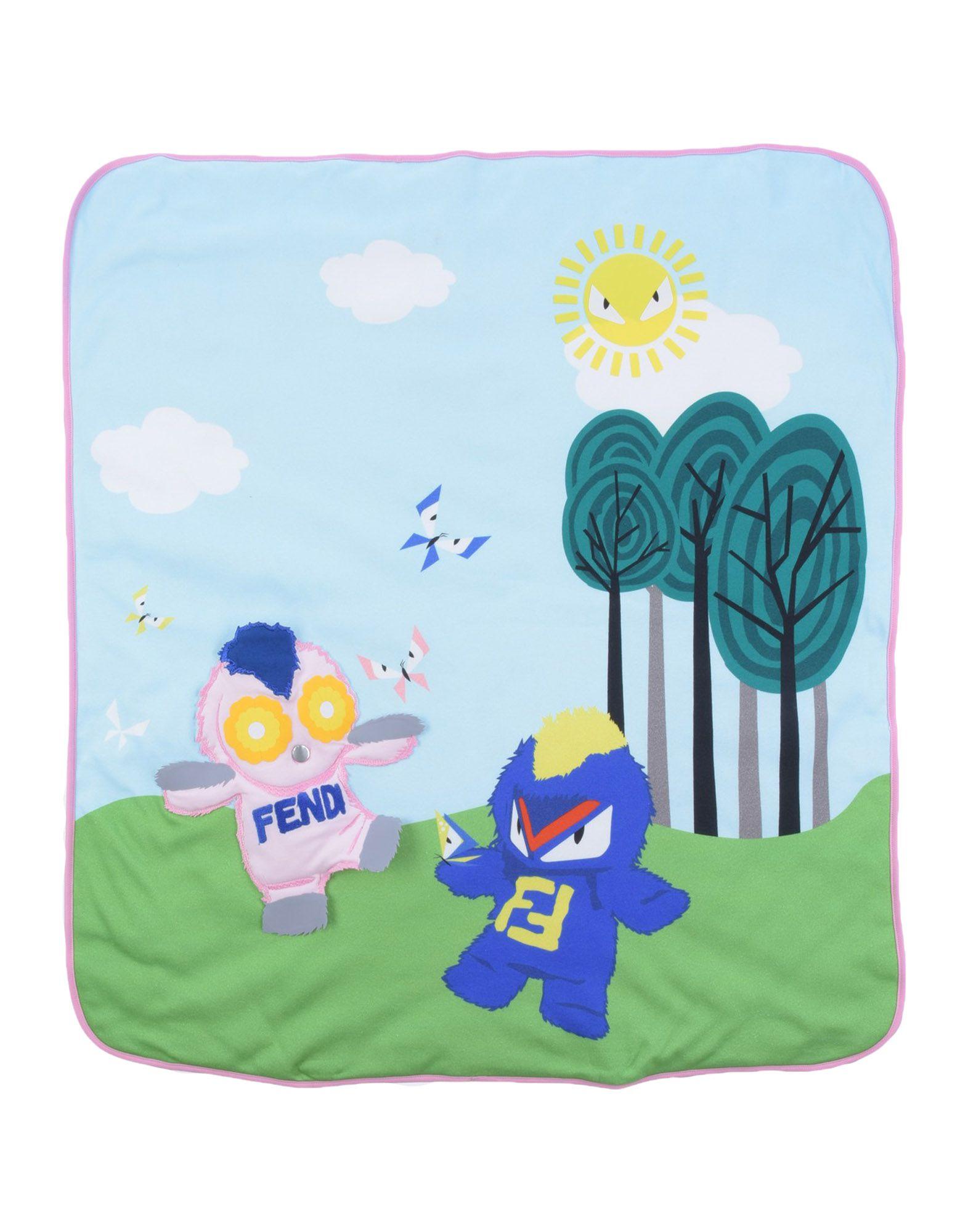 FENDI Одеяльце для младенцев круг для купания младенцев flipper отзывы