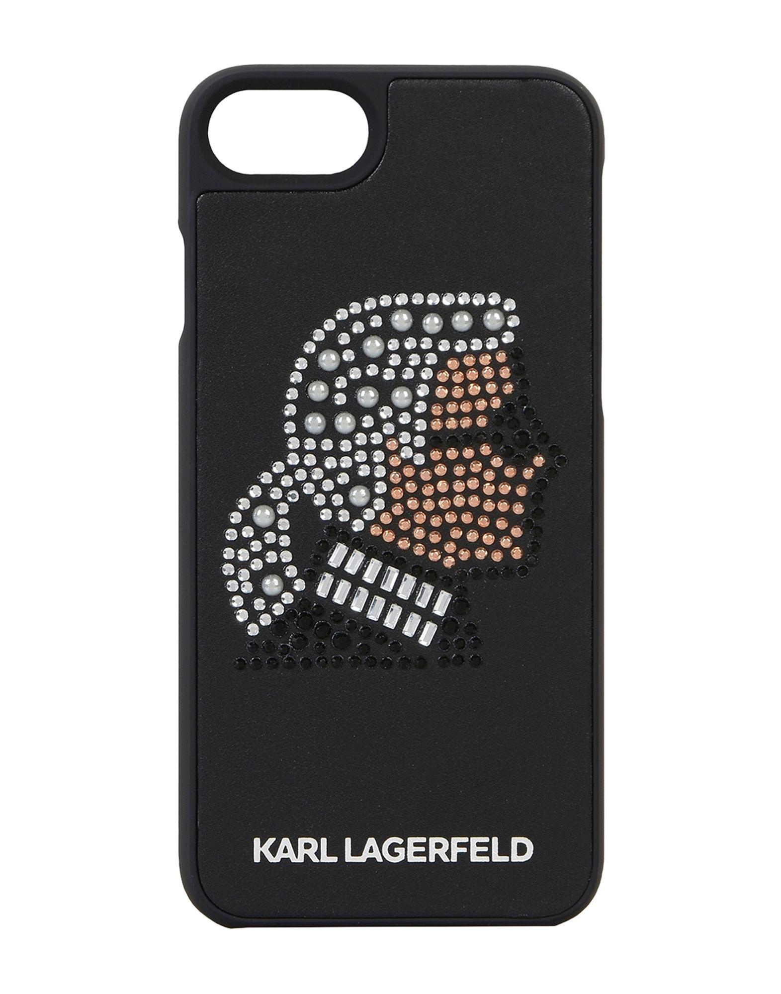 KARL LAGERFELD Чехол karl lagerfeld чехол крышка karl lagerfeld case monster для apple iphone 6 силикон черный soft case