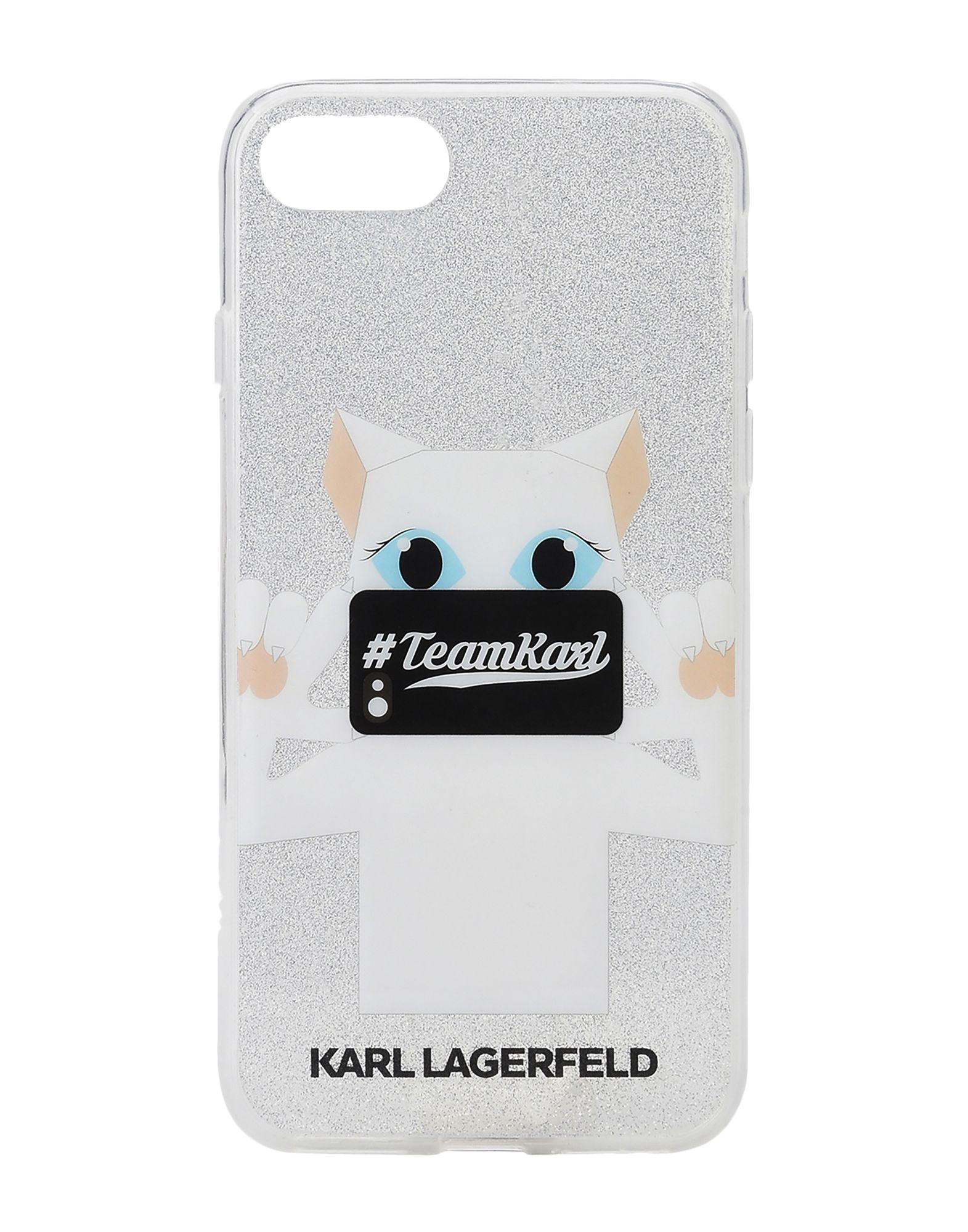KARL LAGERFELD Чехол karl lagerfeld чехол крышка karl lagerfeld для apple iphone 6 6s силикон голубой soft case