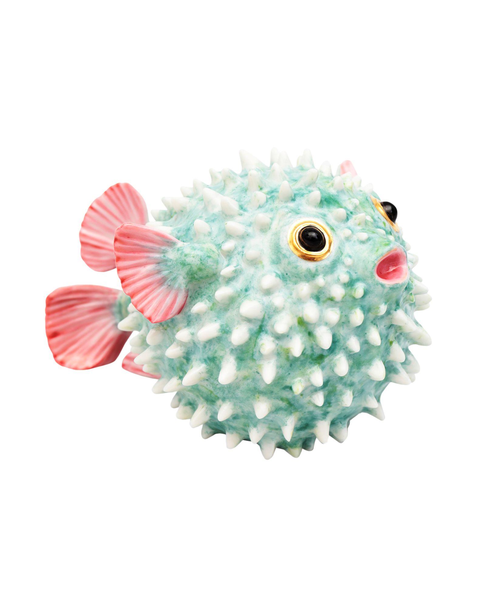 《送料無料》NYMPHENBURG Unisex 雑貨 アジュールブルー セラミック Hedgehog Fish