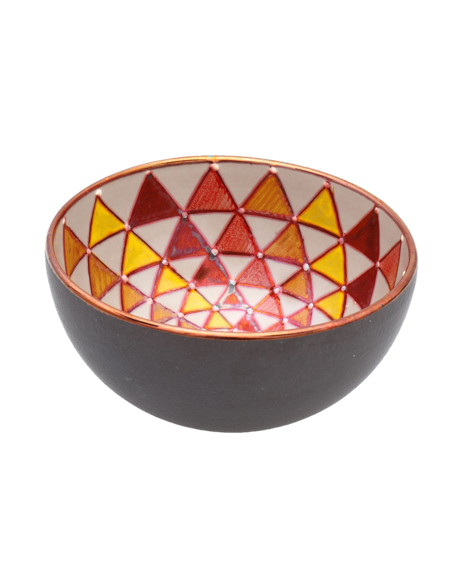 《送料無料》BOTTEGA VIGNOLI Unisex 雑貨 赤茶色 陶製 100%